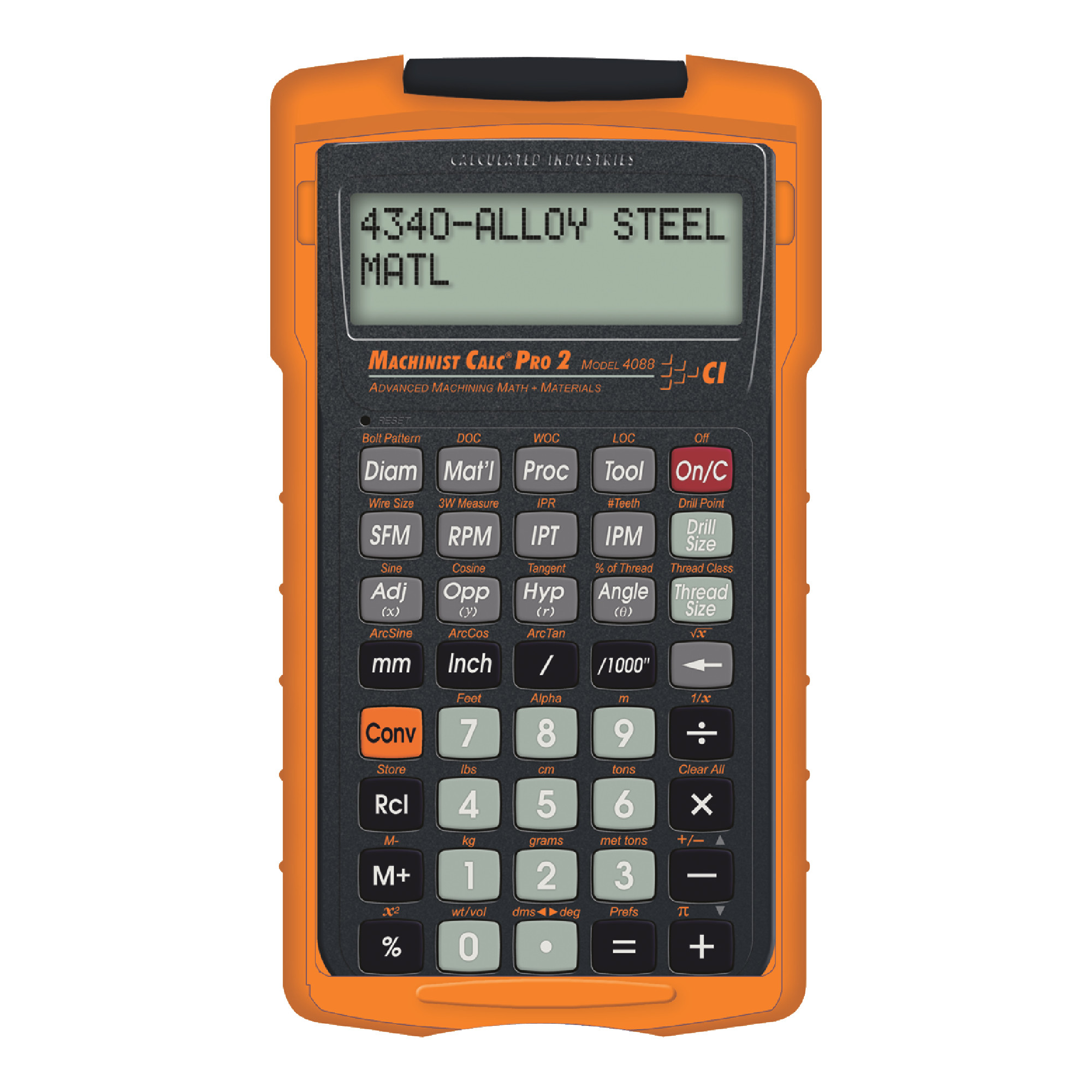 MACHINIST CALC PRO 2 - WITH MATERIALS