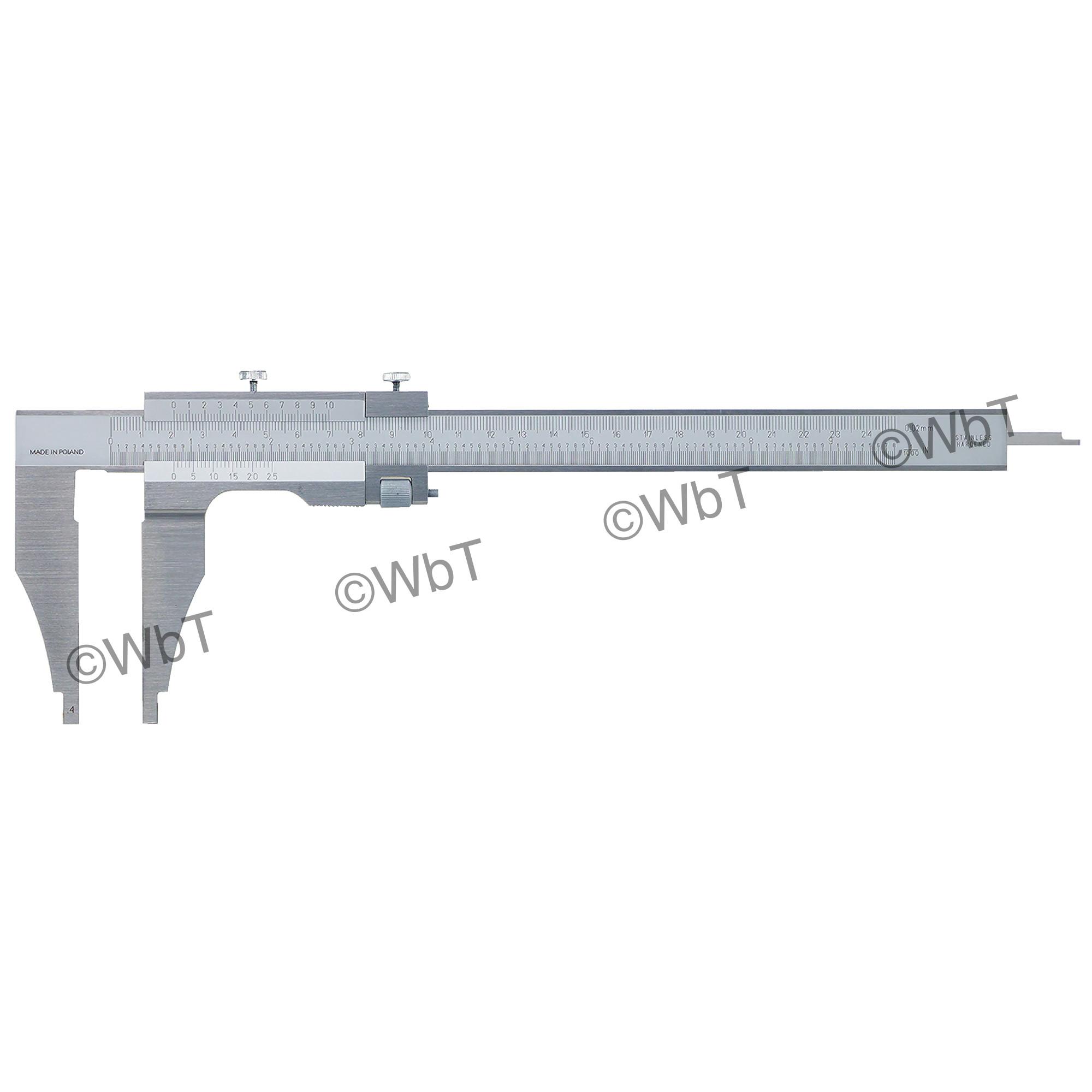 Fine Adjustment Heavy Duty Vernier Caliper