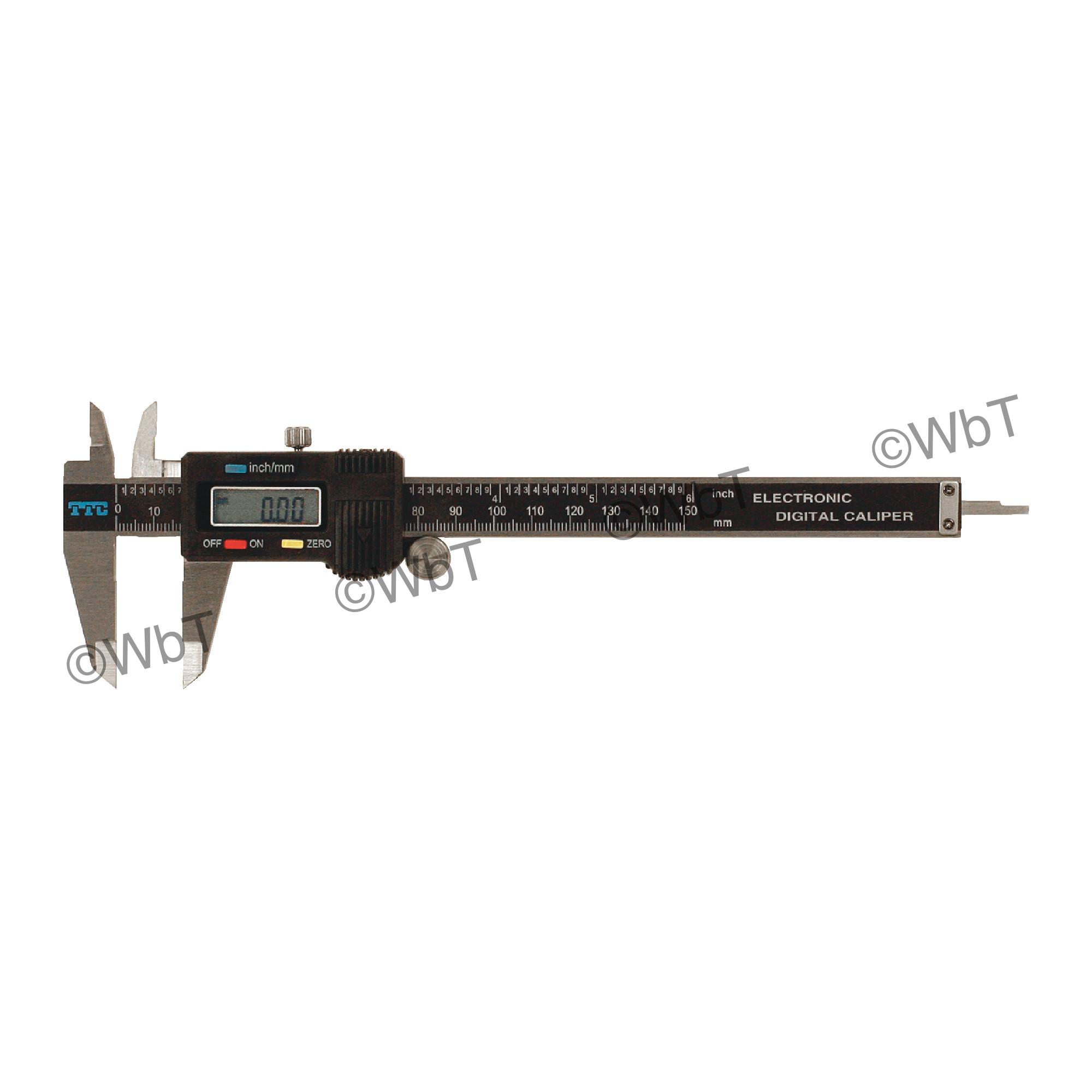 """TTC 6"""" Electronic Caliper"""