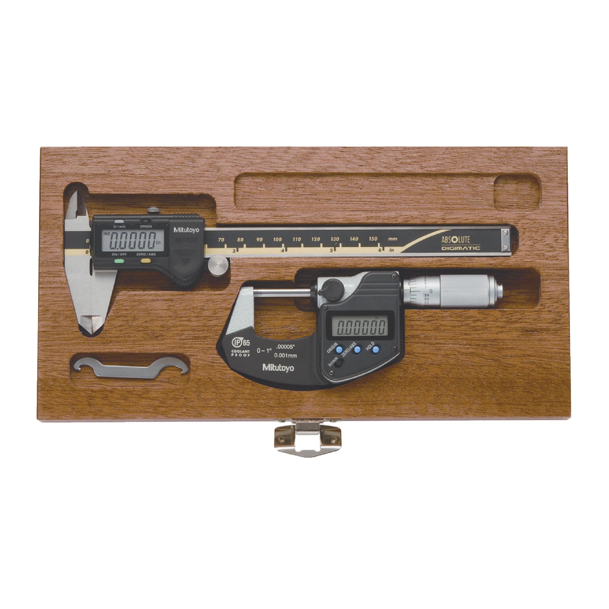 Digital Caliper & Micrometer Set
