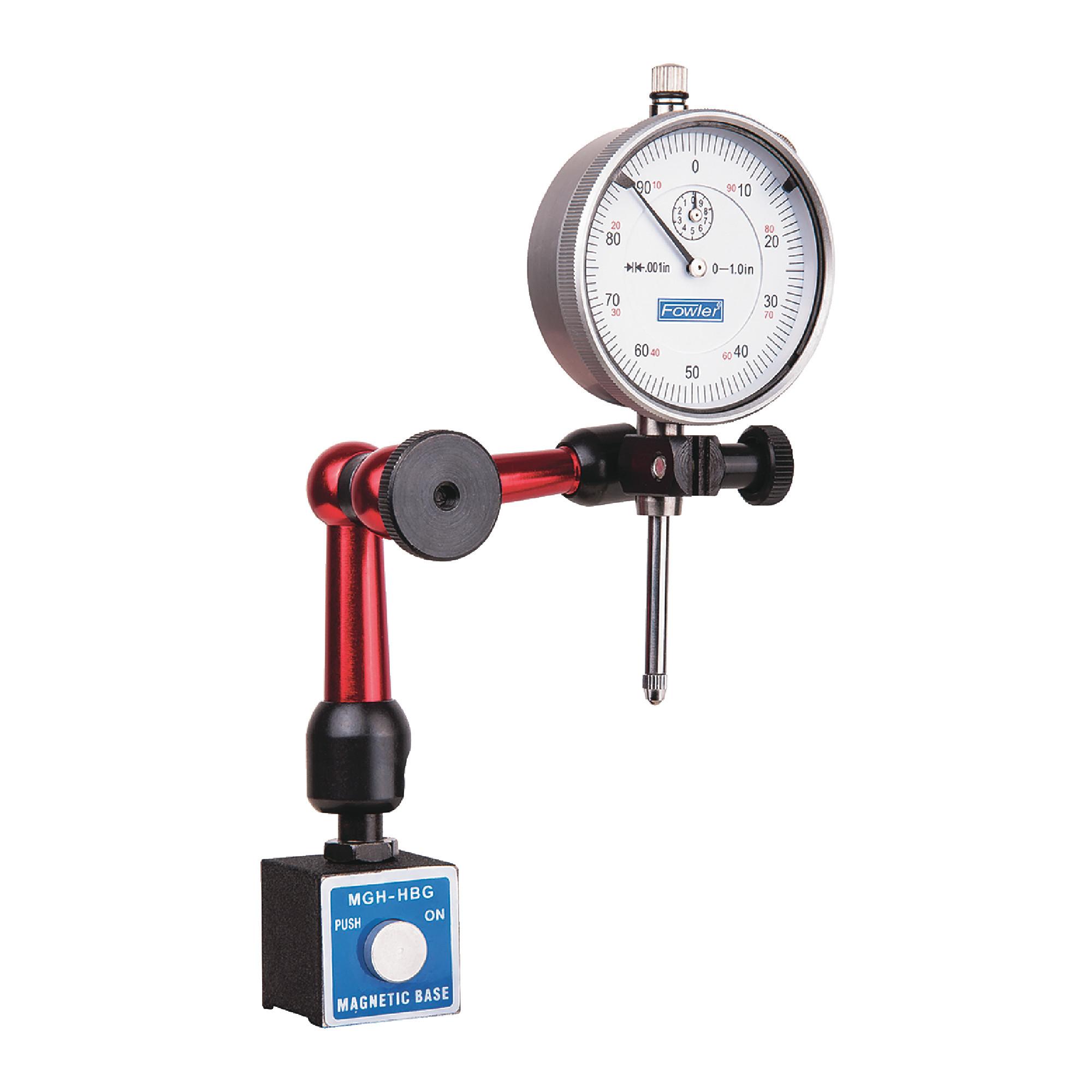 Locking Arm Mag Base & Indicator Set