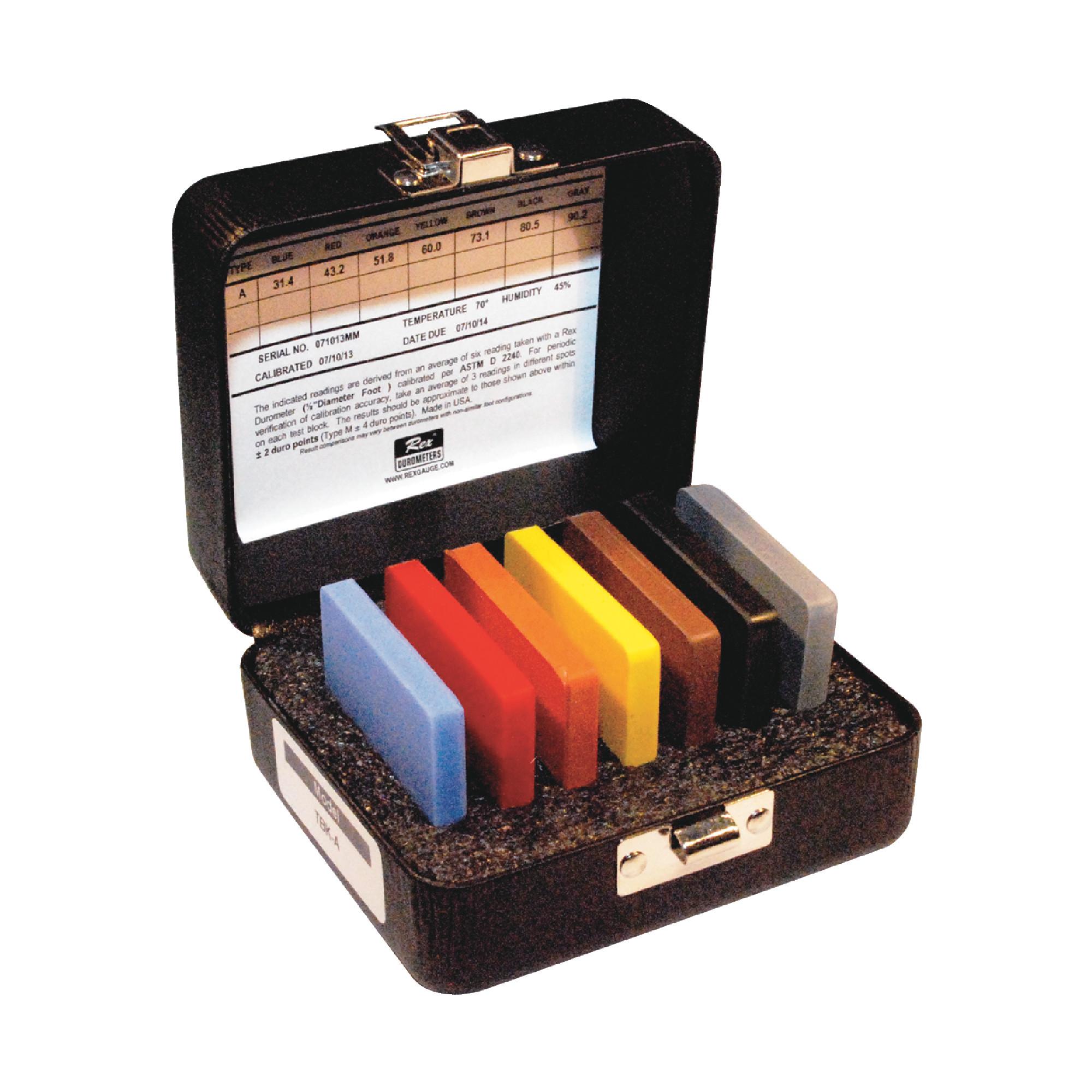 7 Piece Durometer Test Block Kit
