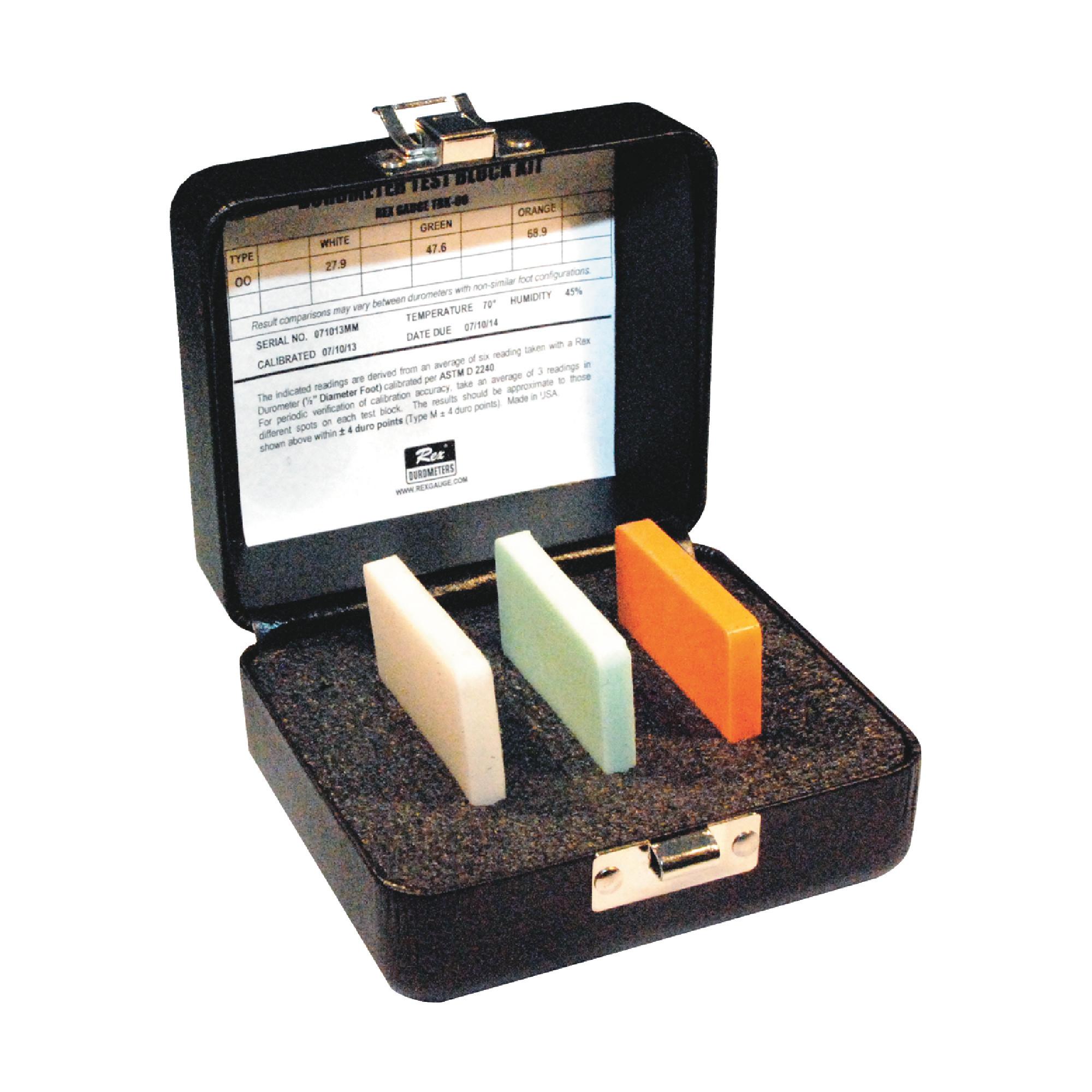 3 Piece Durometer Test Block Kit
