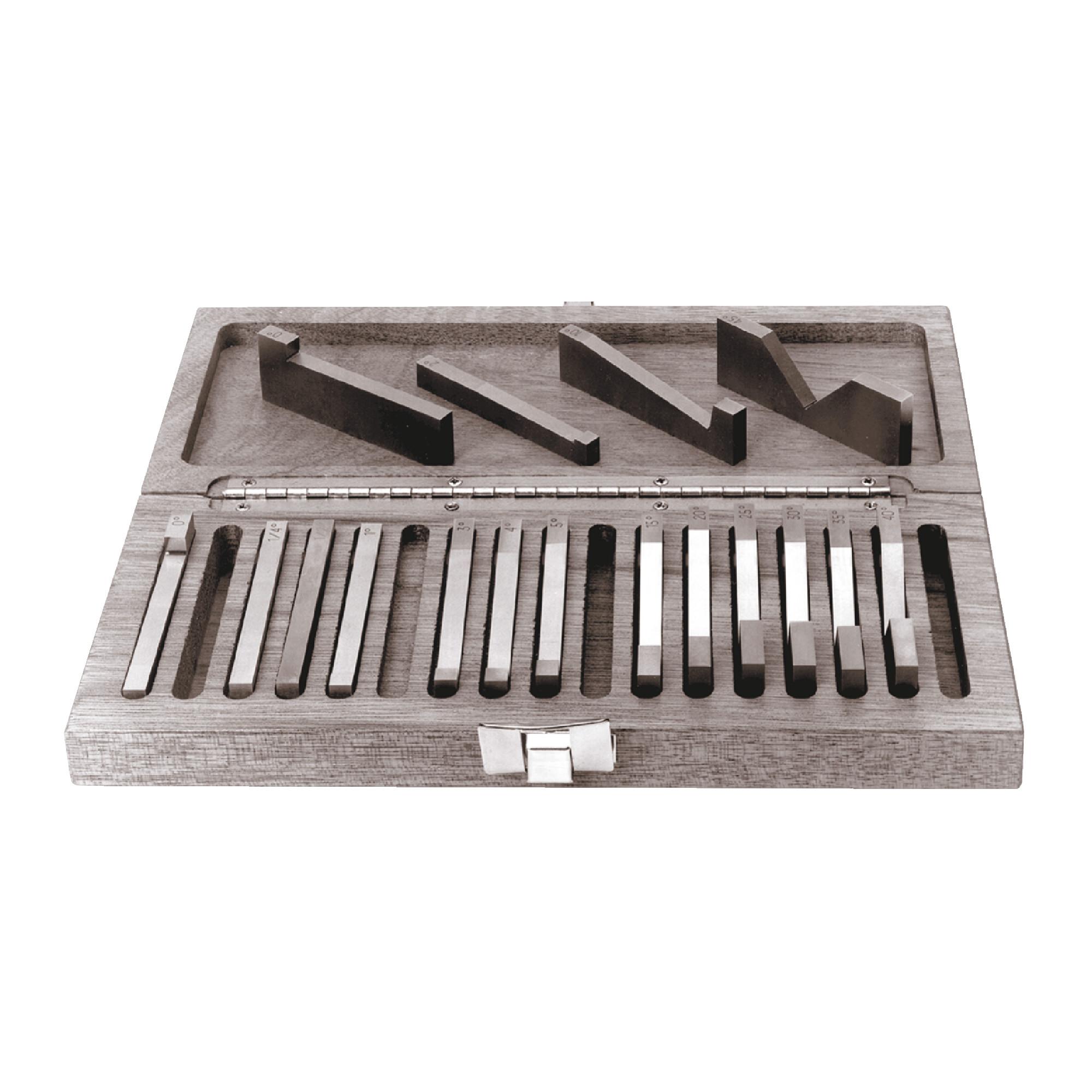 17 Piece Precision Angle Block Sets