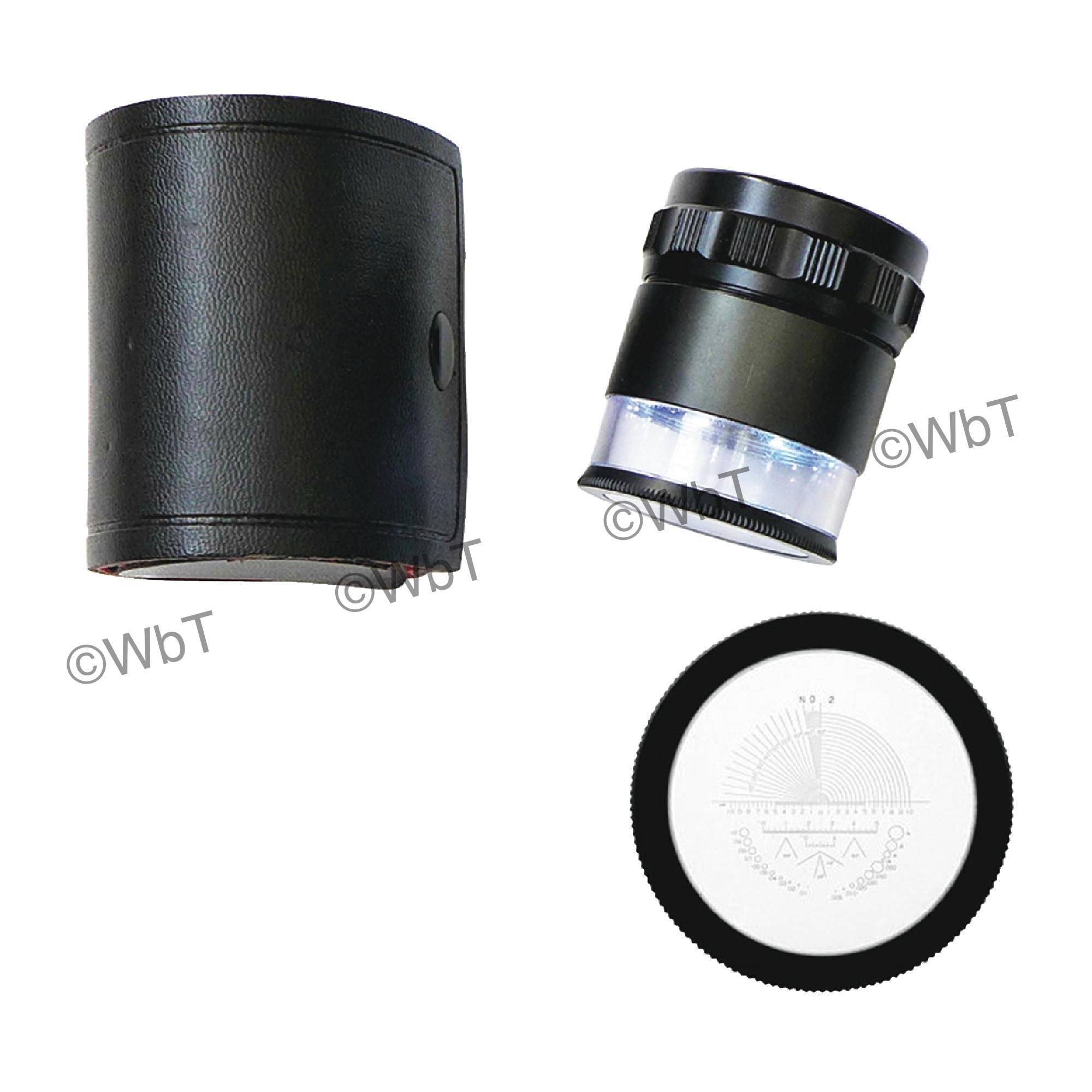 10X LED Magnifier Set