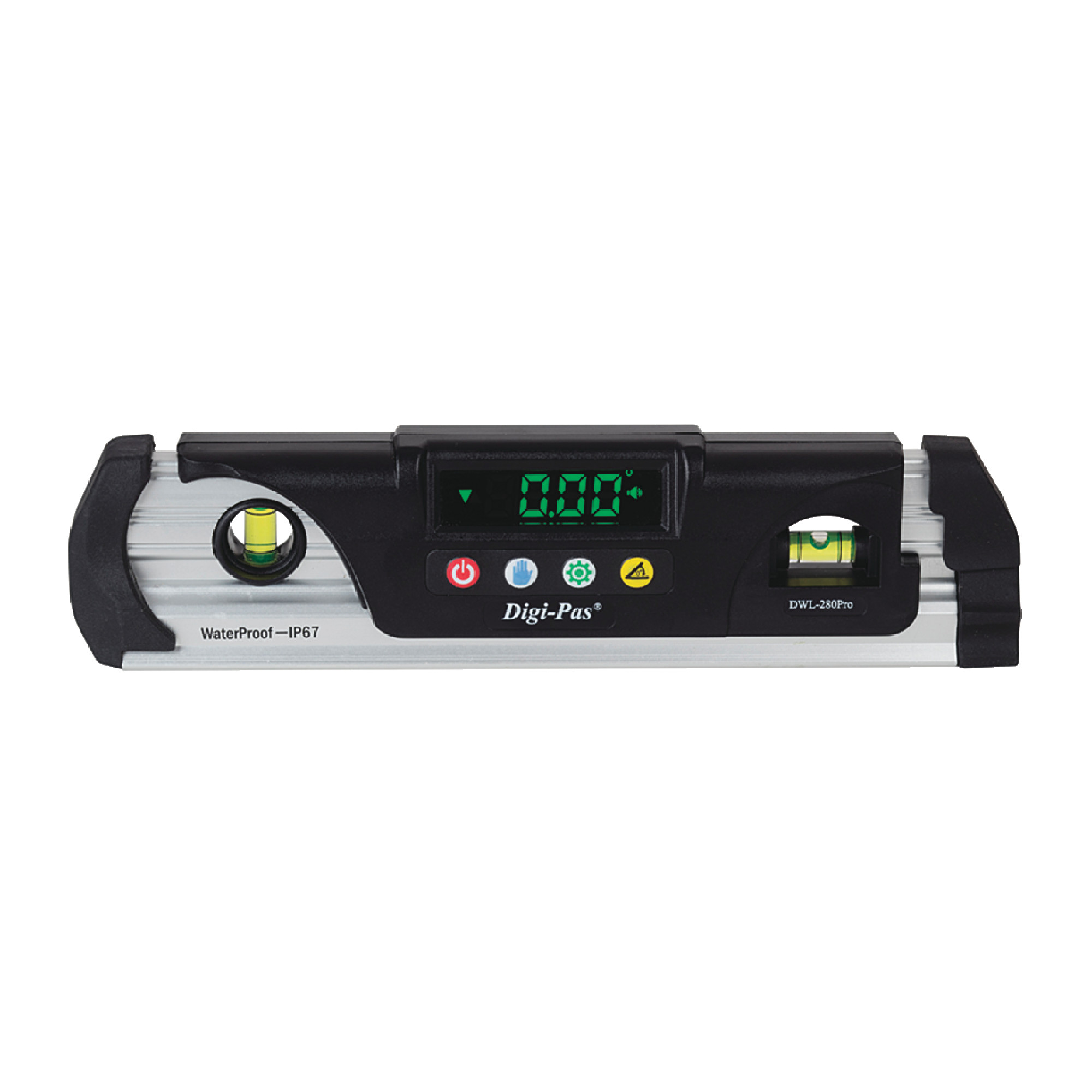 IP67 Waterproof Digital Level with Magnet at V-groove Base