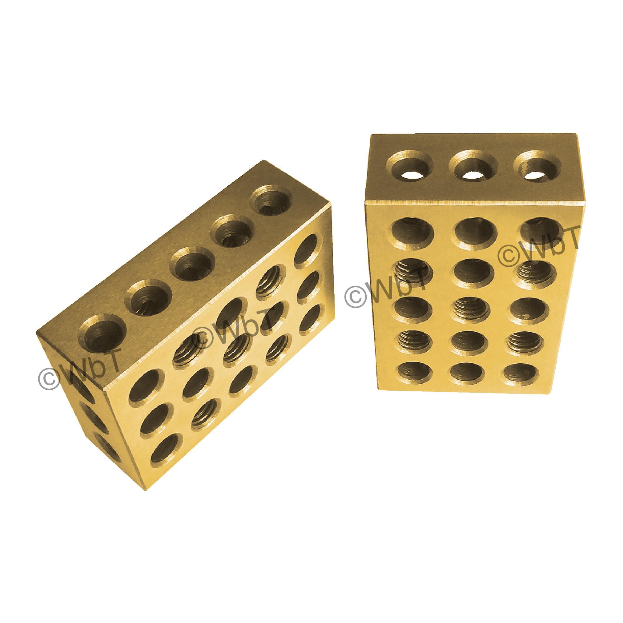 TiN Coated 1-2-3 Block Set