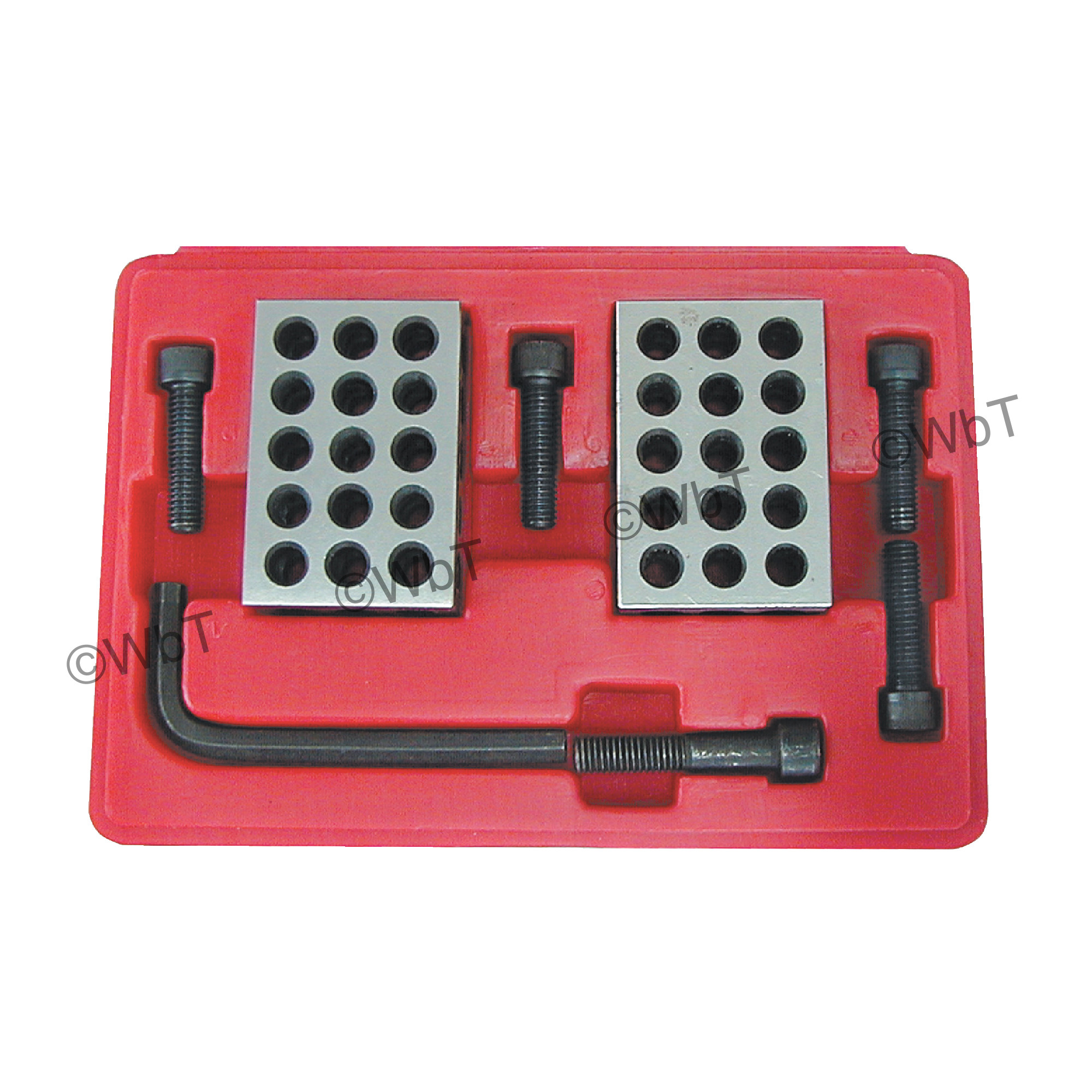 1-2-3 Block Set with Bolts
