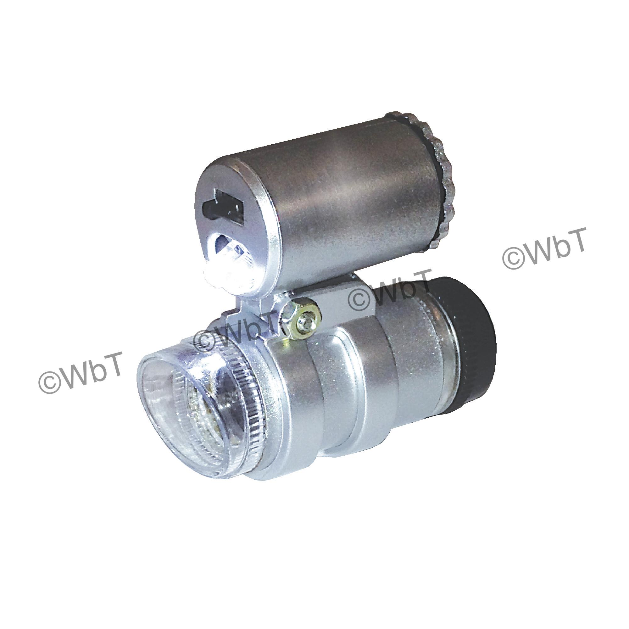 45X LED Pocket Magnifier