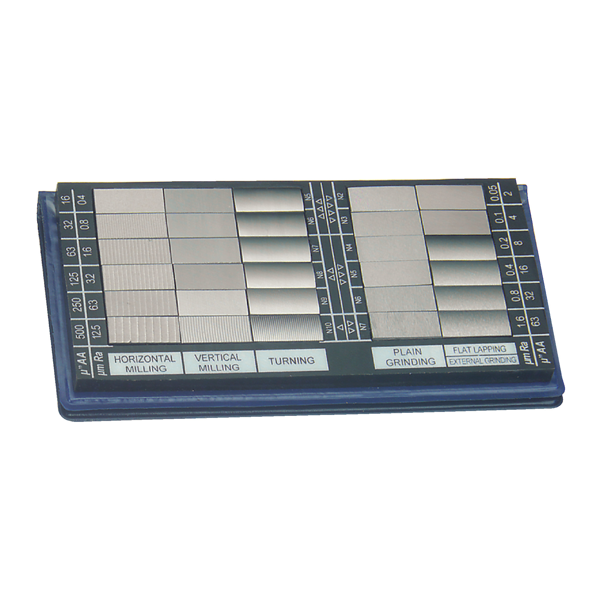 Surface Roughness Comparator - 30 Specimens