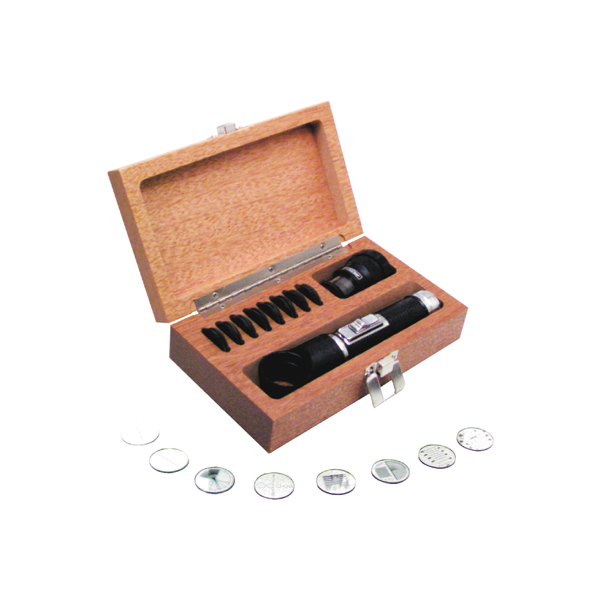 10X Pocket Optical Comparator Set
