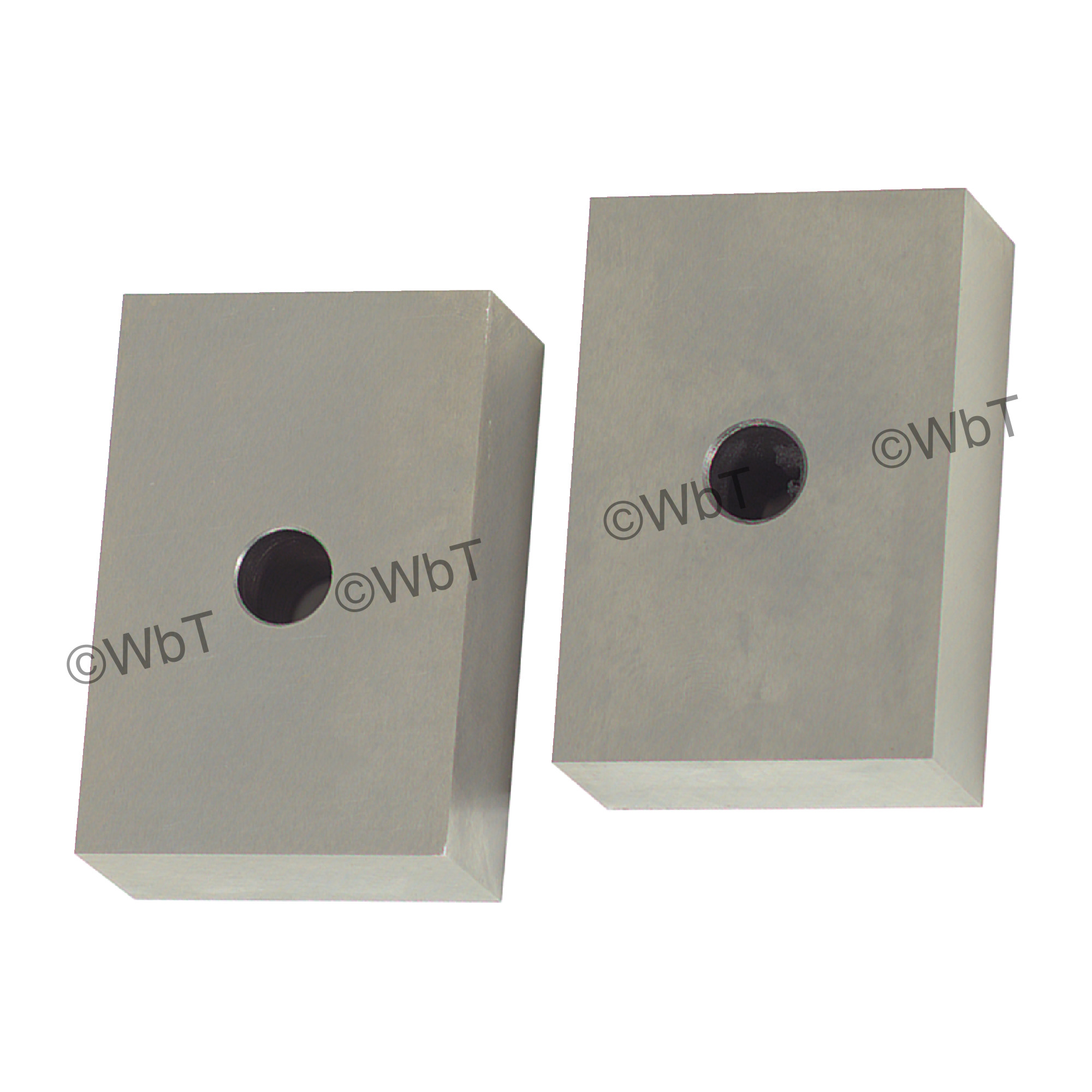 Precision Ground 1 Hole 1-2-3 Block Set