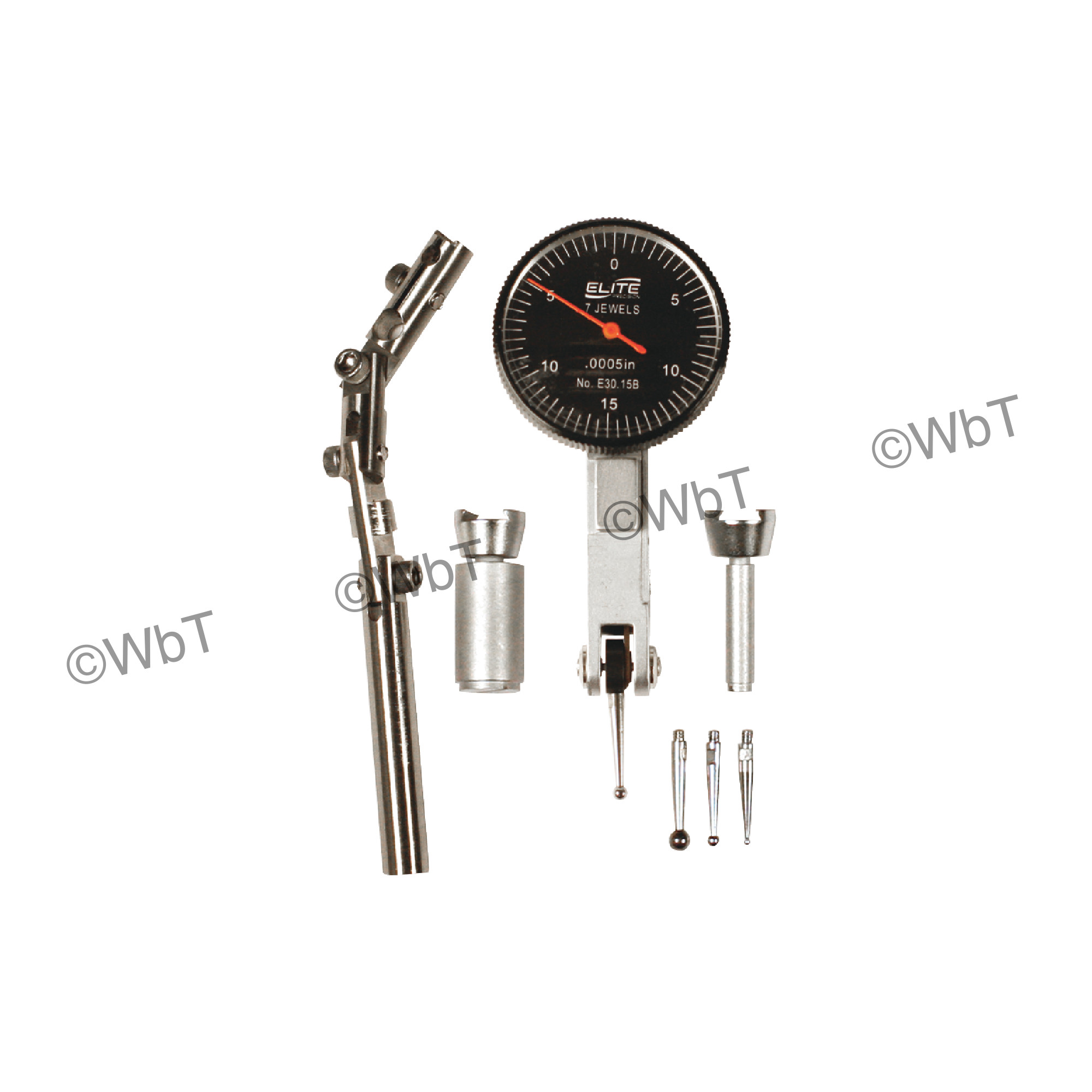 Elite Precision Test Indicator with USA Axial Support
