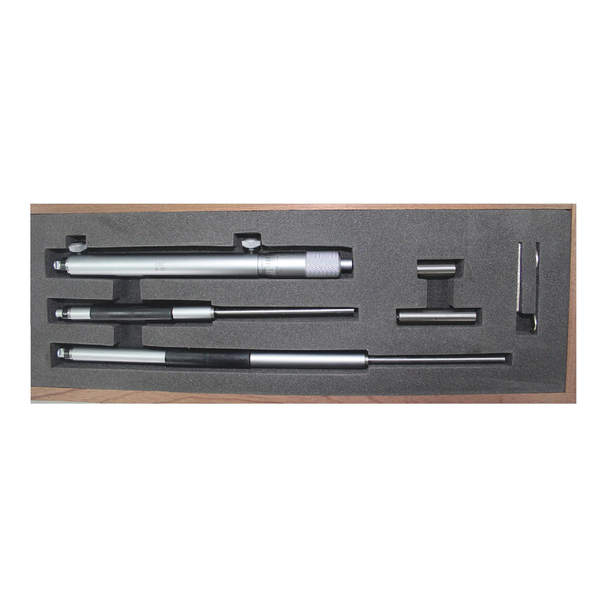 "8 ~ 20"" Rod Type Inside Micrometer Set"