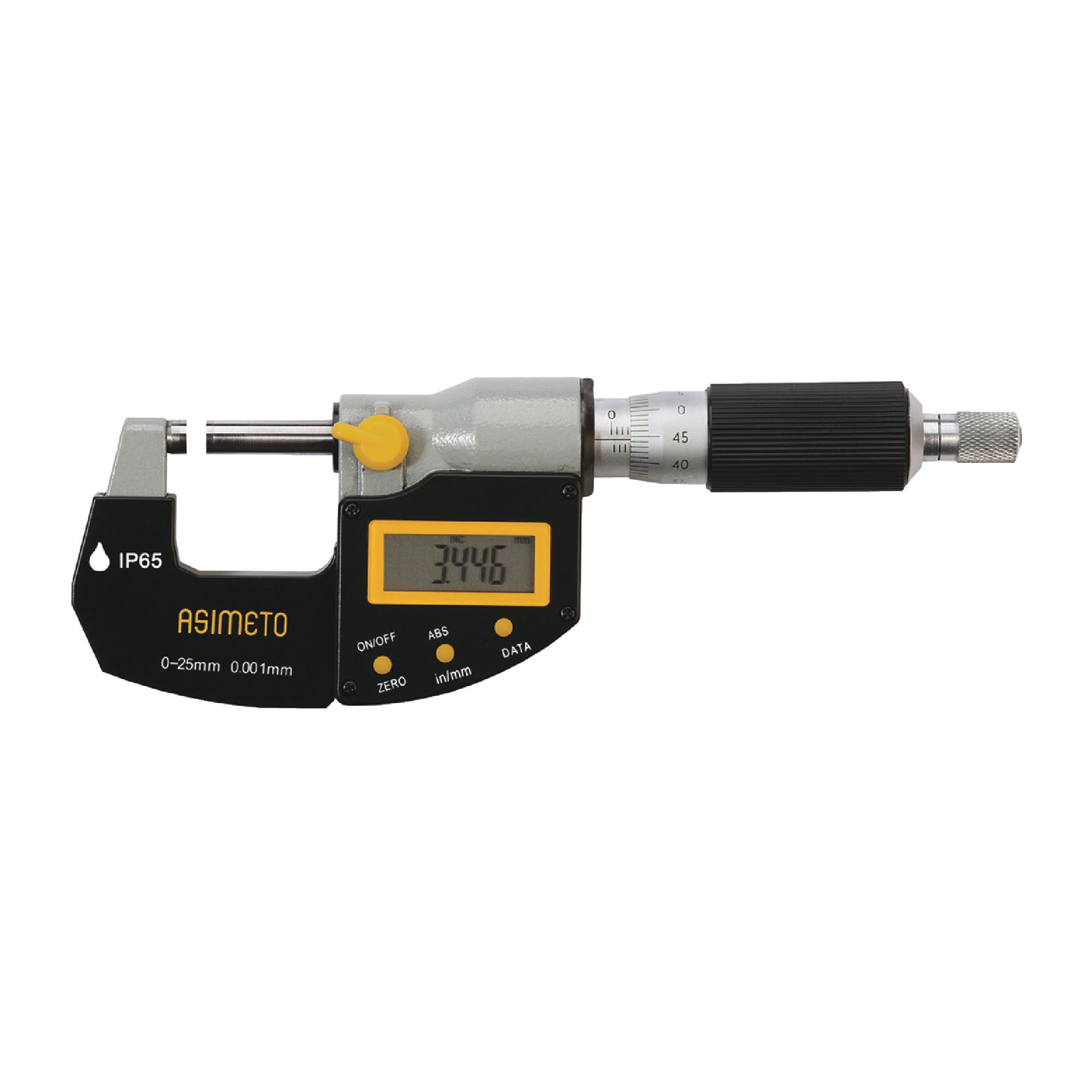 """0-1"""" IP65 Digital Outside Micrometer"""