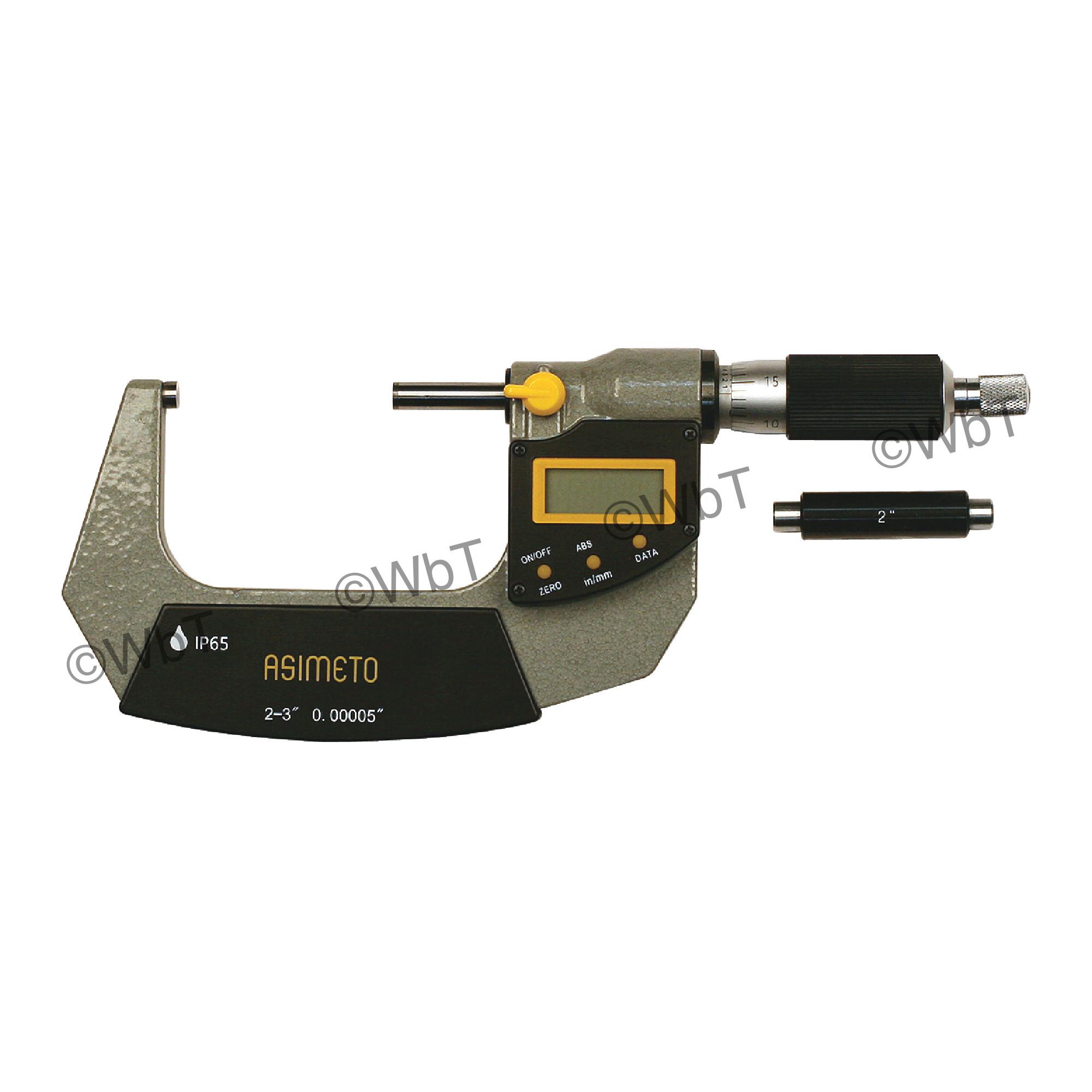 """2-3"""" IP65 Digital Outside Micrometer"""