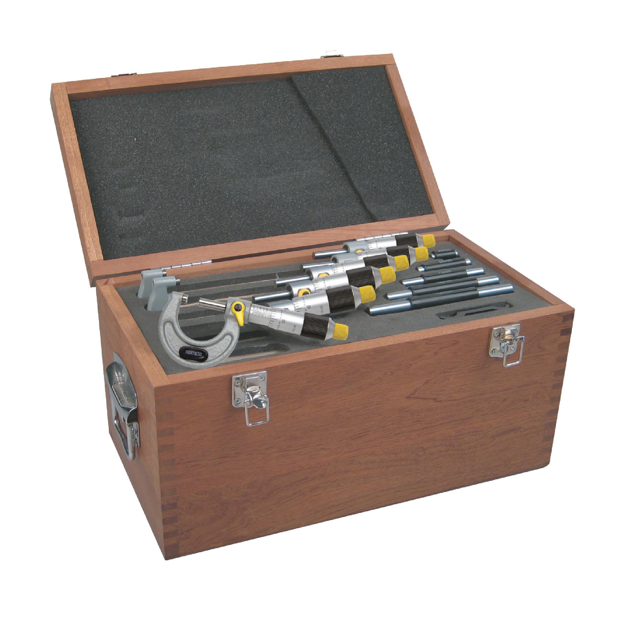 "0-6"" Precision Outside Micrometer Set"