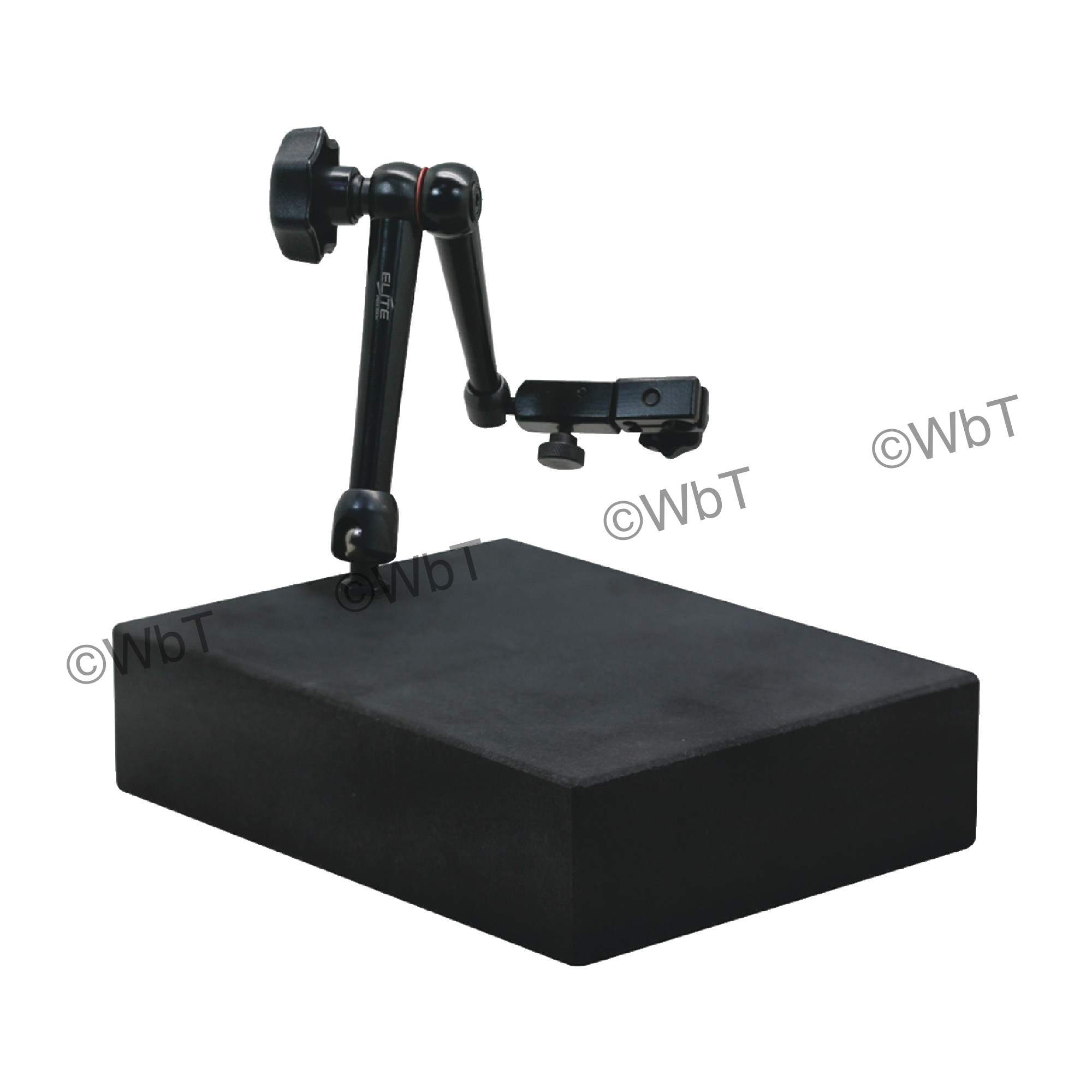 Granite Gage Stand with Flexible Arm