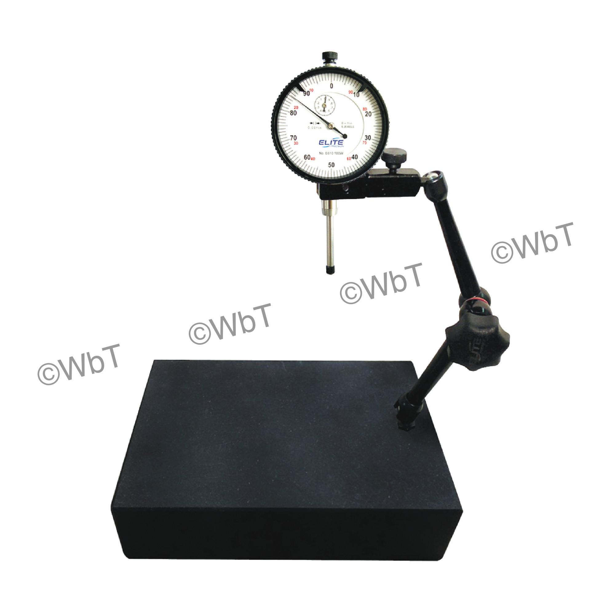 Granite Gage Stand & Dial Indicator