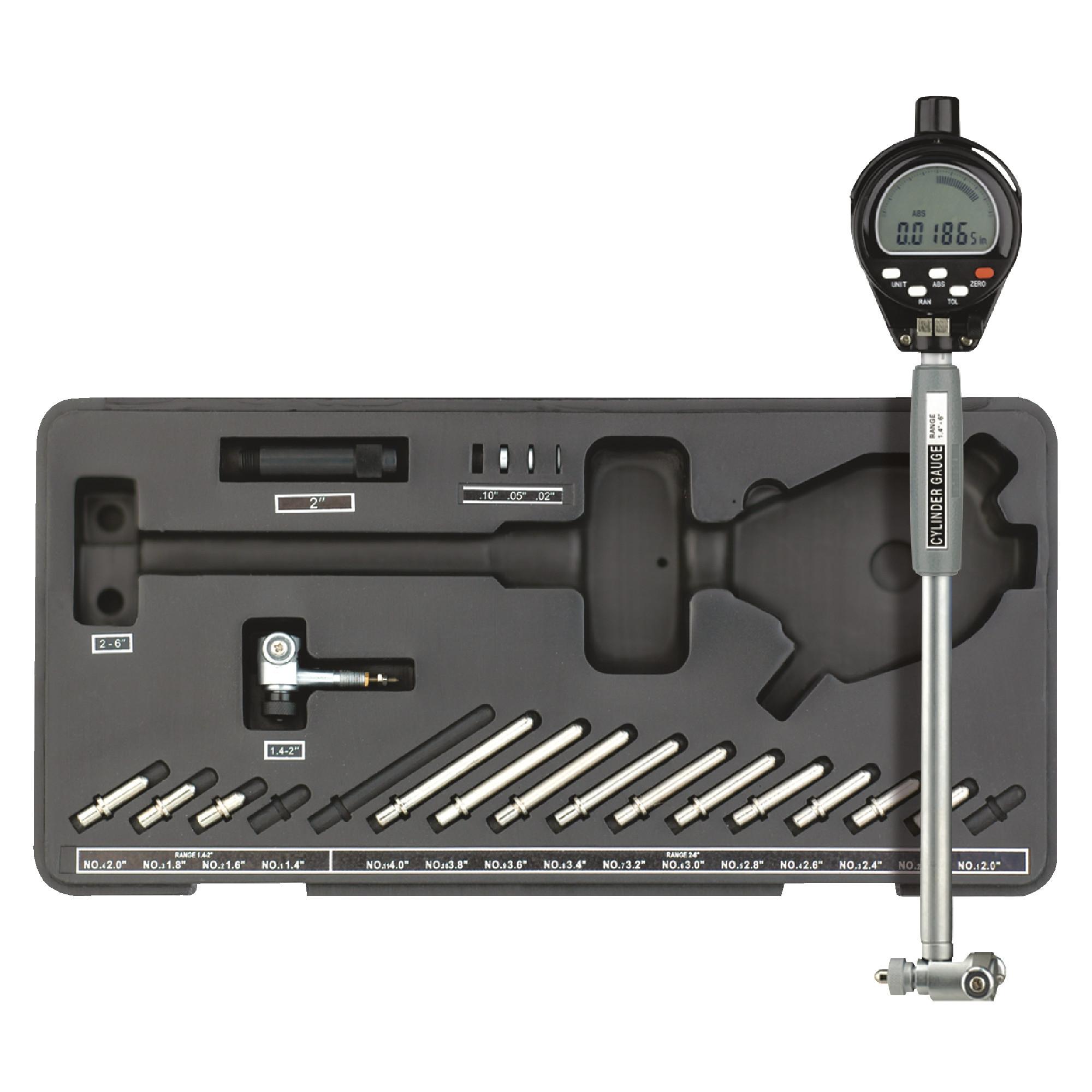 FOWLER - XT-E 1.4-6 Electronic Digital Bore Gage