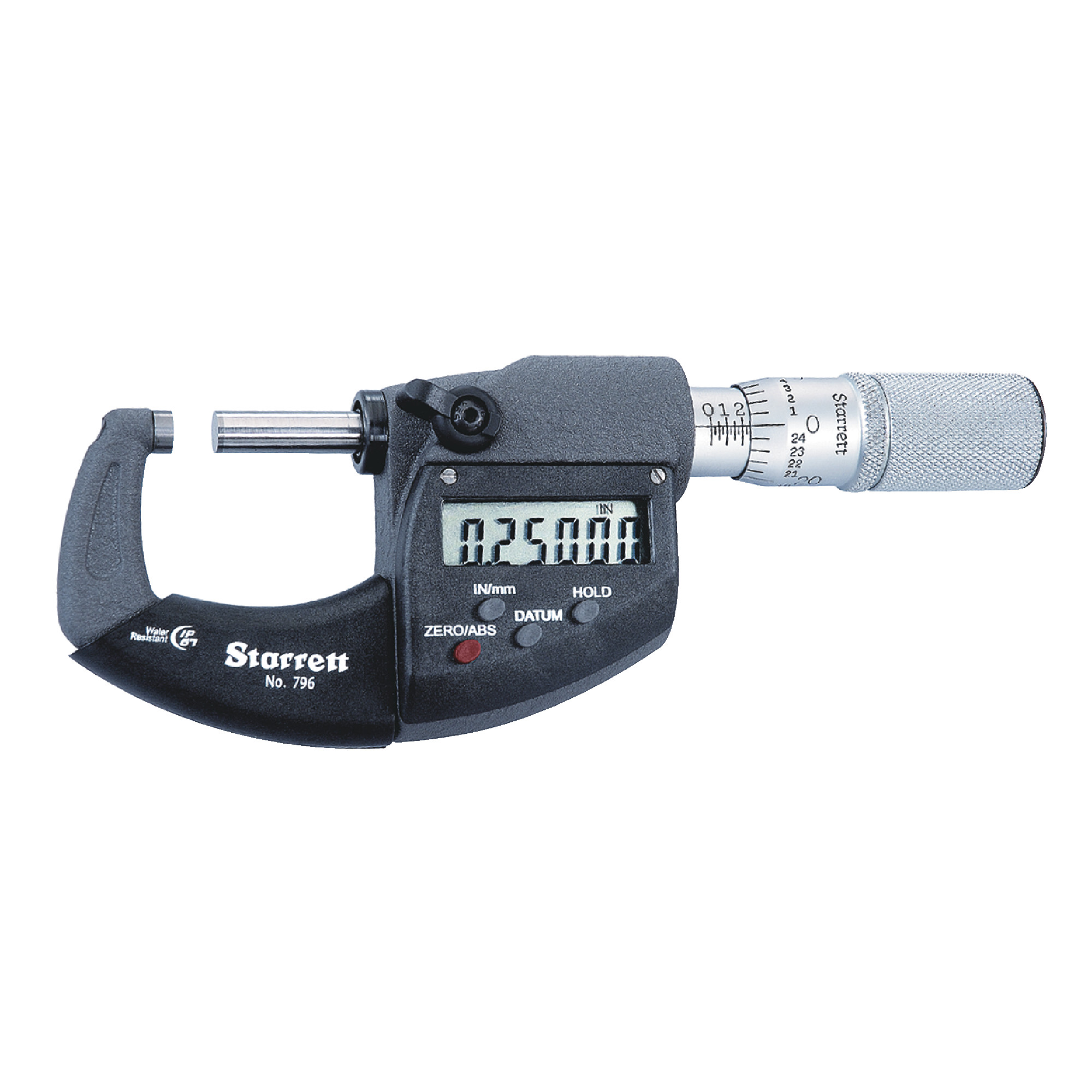"""0-1"""" IP67 Friction Thimble Electronic Micrometer"""