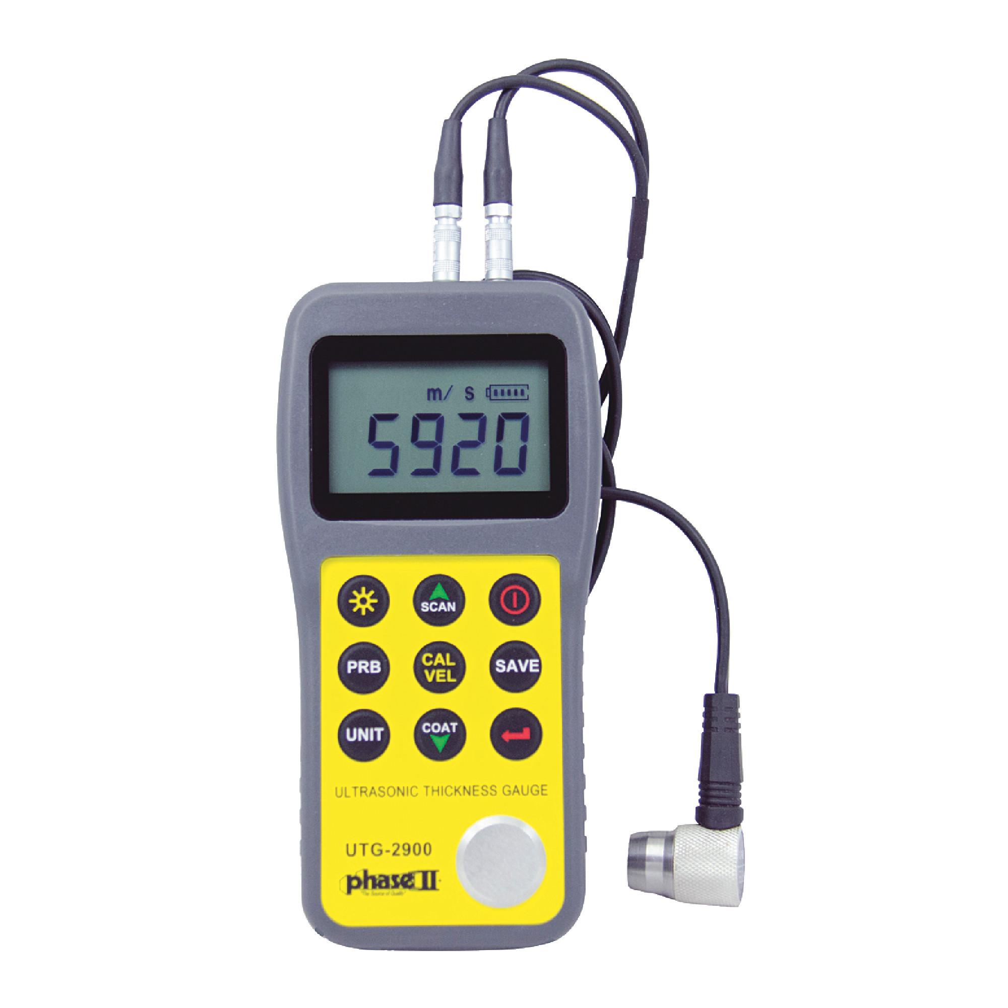 UTG2900 Ultrasonic Thickness Gage