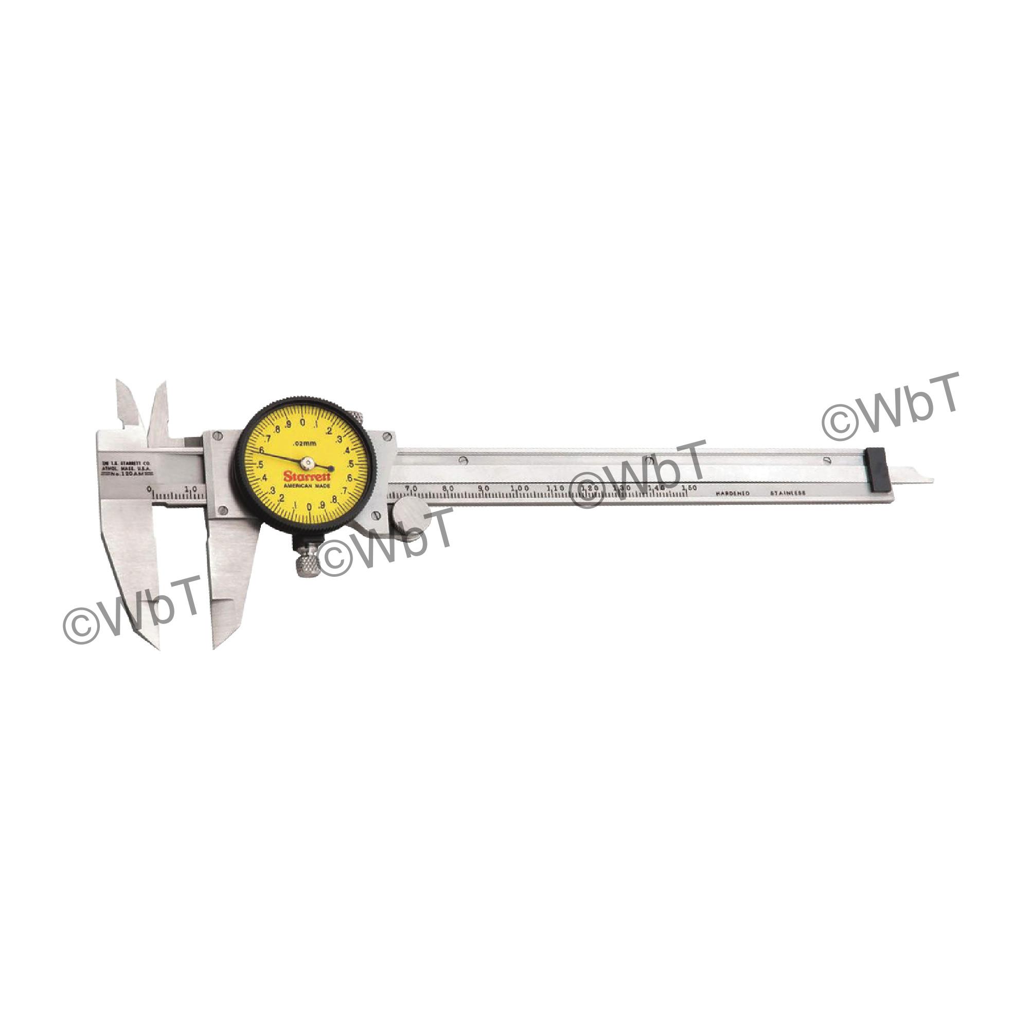 """150mm """"One Rev"""" Precision Dial Caliper"""