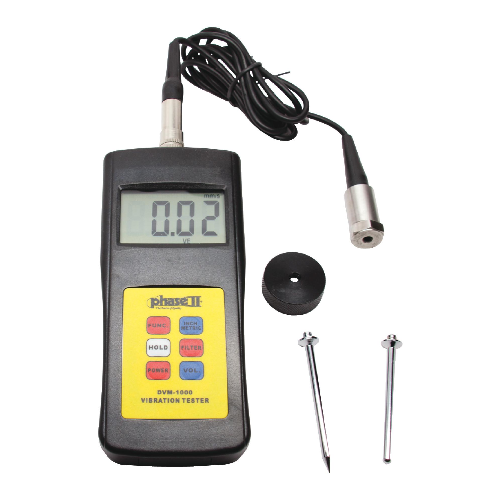 DVM1000 Digital Vibration Tester