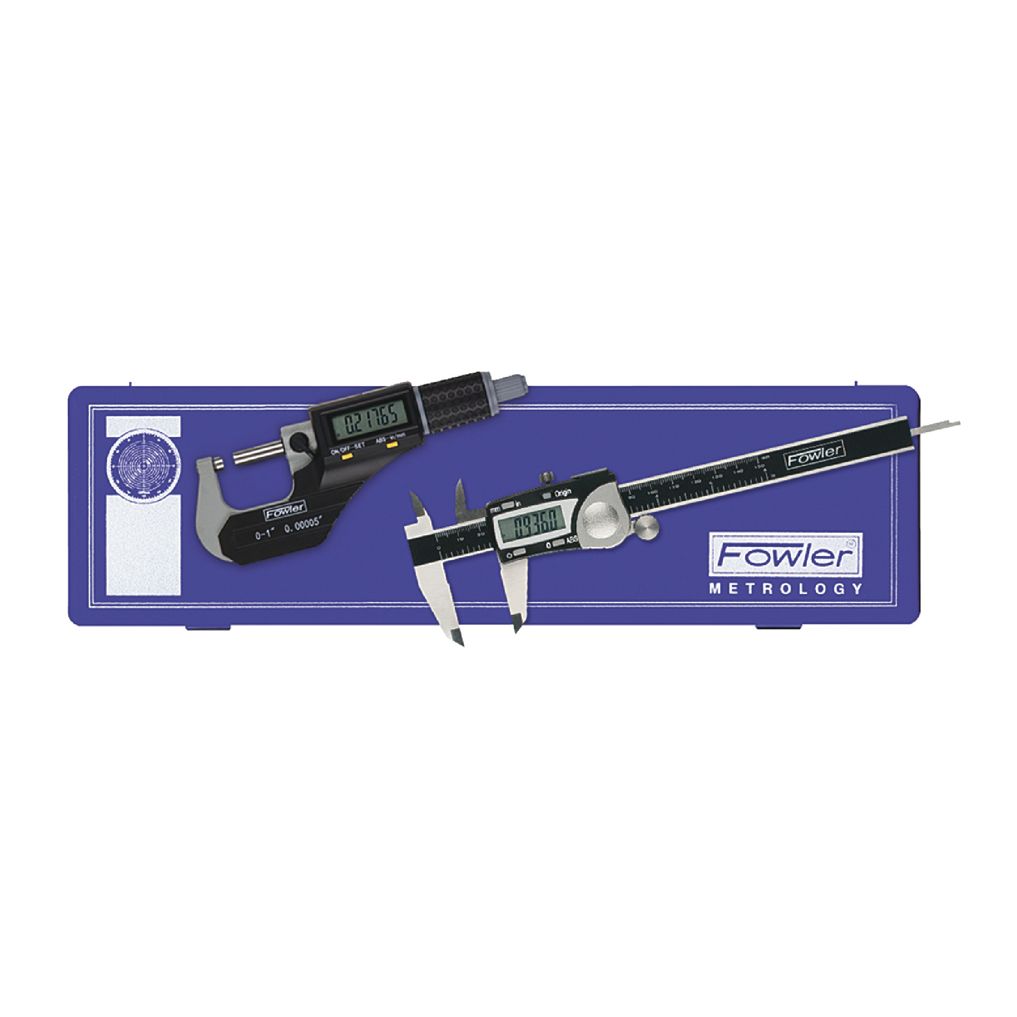 Electronic Caliper & Micrometer Set