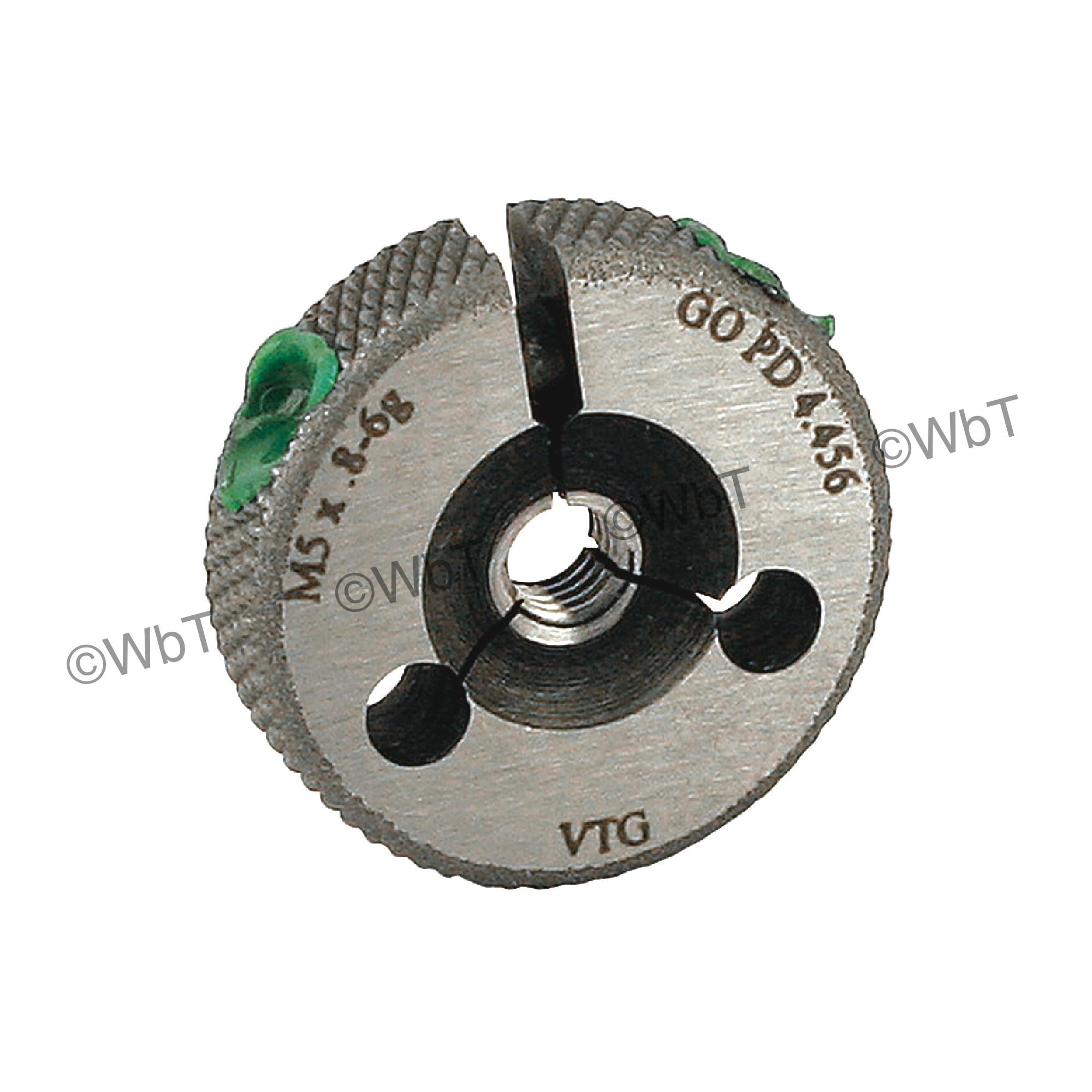 Metric Thread Ring Gage