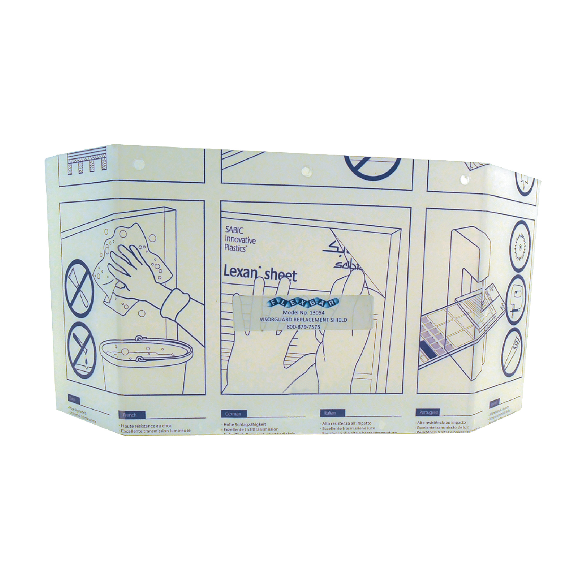 Visorguard™ Safety Shield