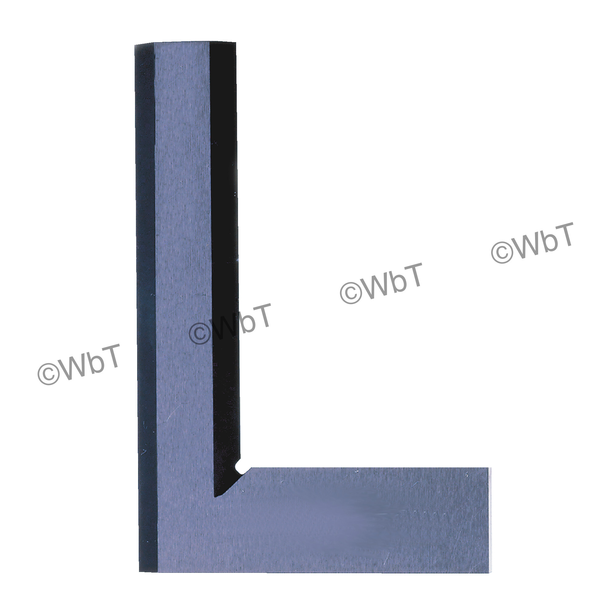 Hardened Precision Steel Square With Beveled Edges