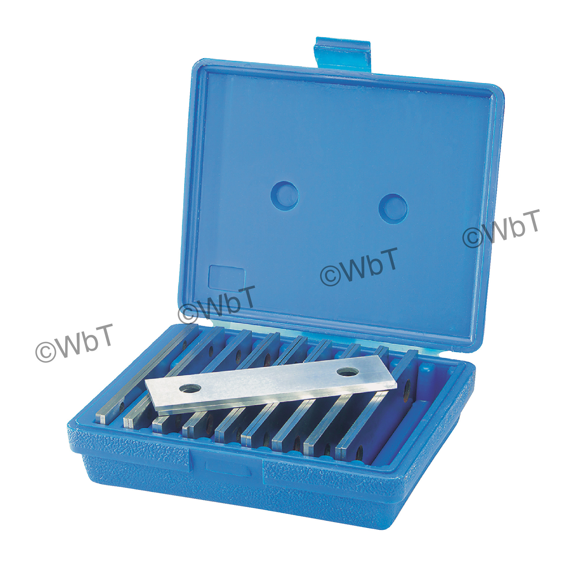 """6"""" Thin Style 10 Pairs Steel Parallel Set"""