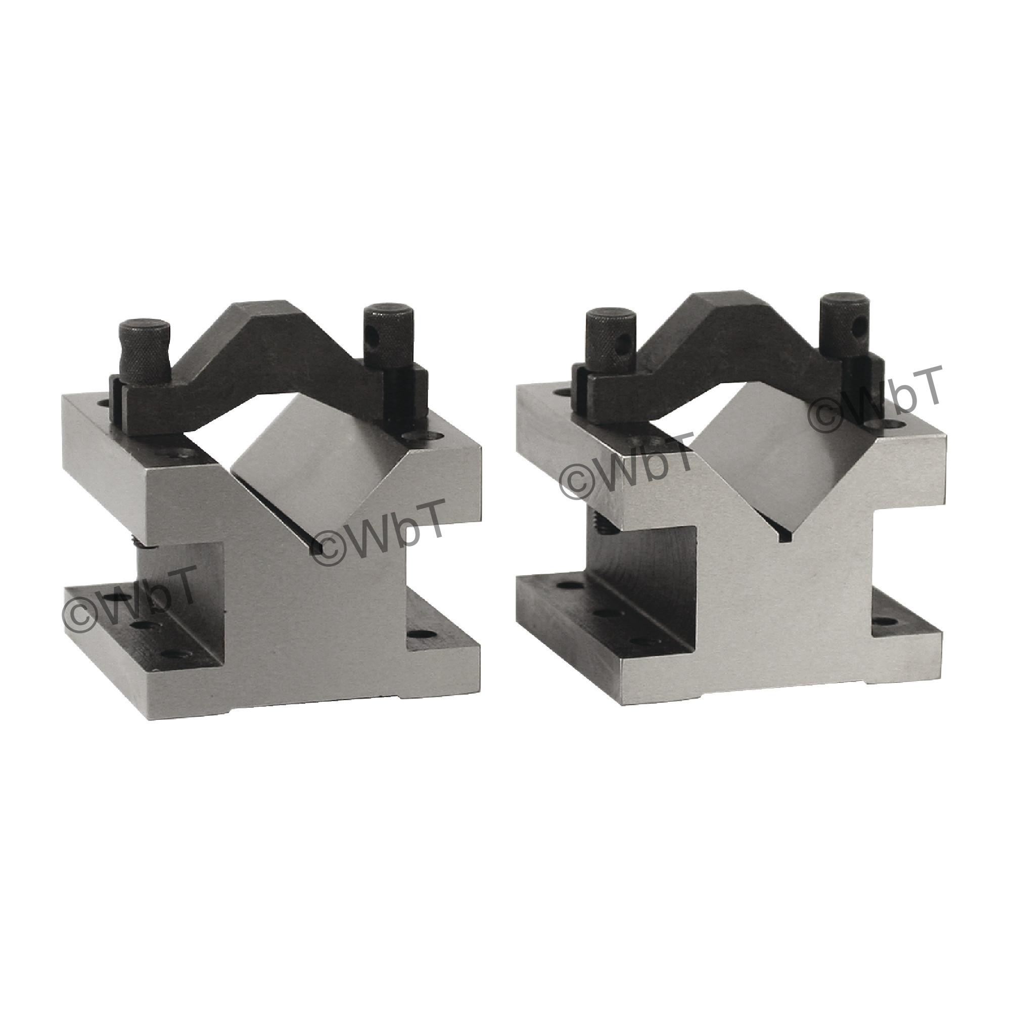 "Ultra Precision ""V"" Blocks & Clamp Set"