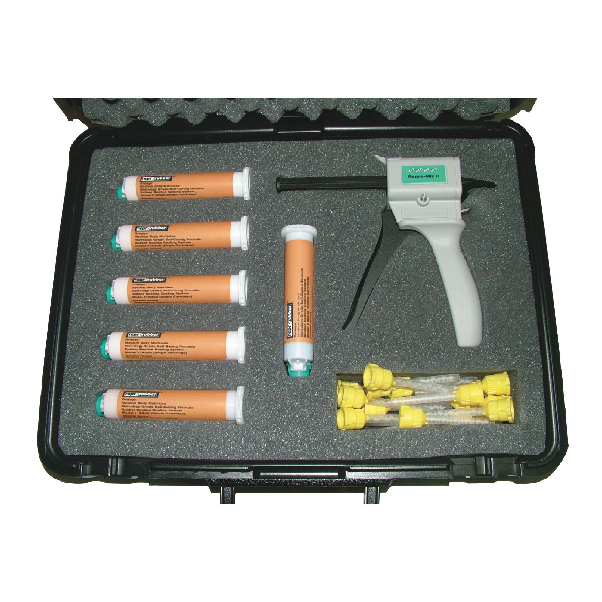 Reprorubber Orange Quick Dispense Cartridge System Kit
