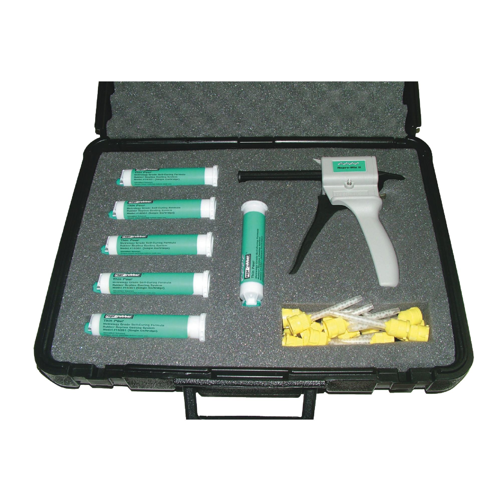 Reprorubber Green Quick Dispense Cartridge System Kit