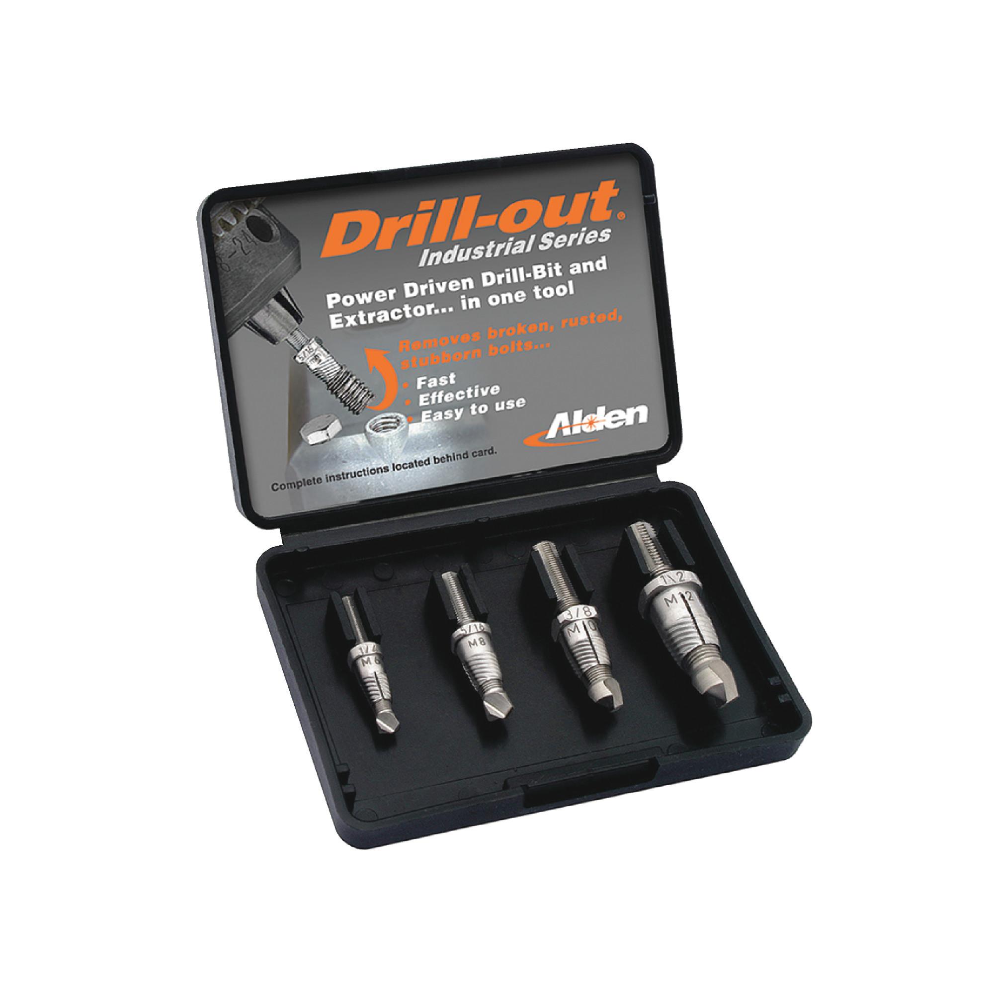 Drill-Out Broken Bolt Extractors Sets