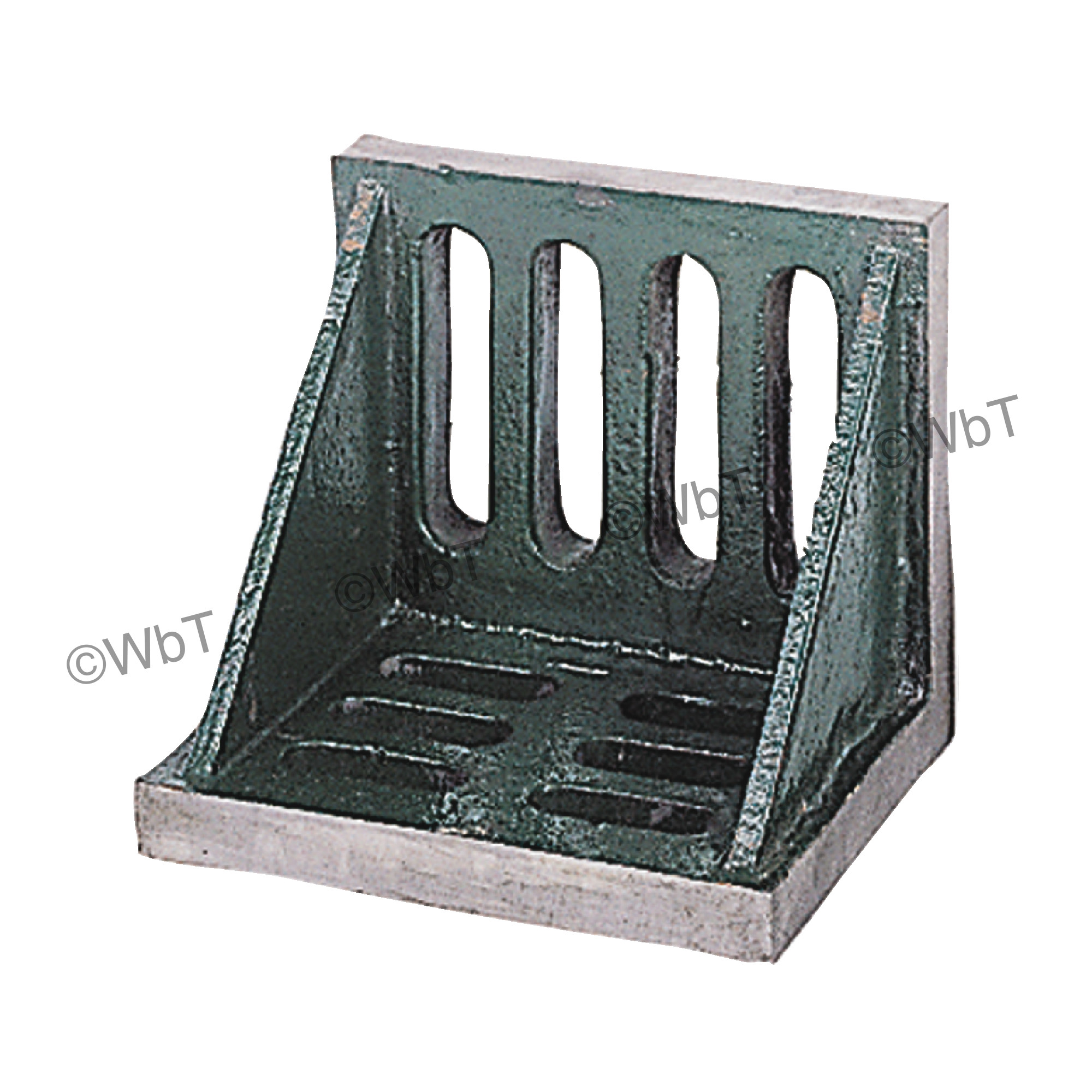 Webbed End Slotted Angle Plate