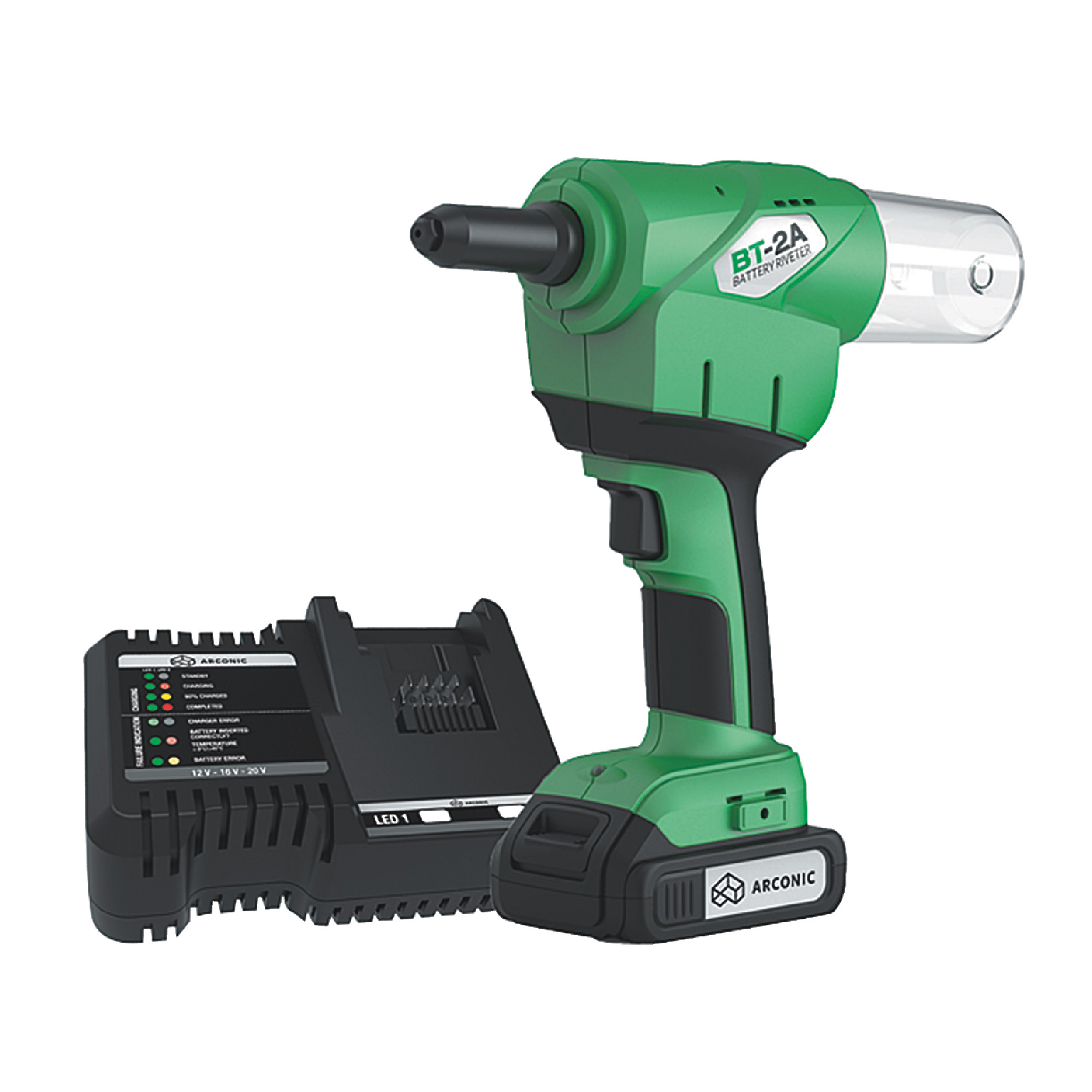 MARSON 39080 BT2 Battery-Powered Rivet Installation Tool
