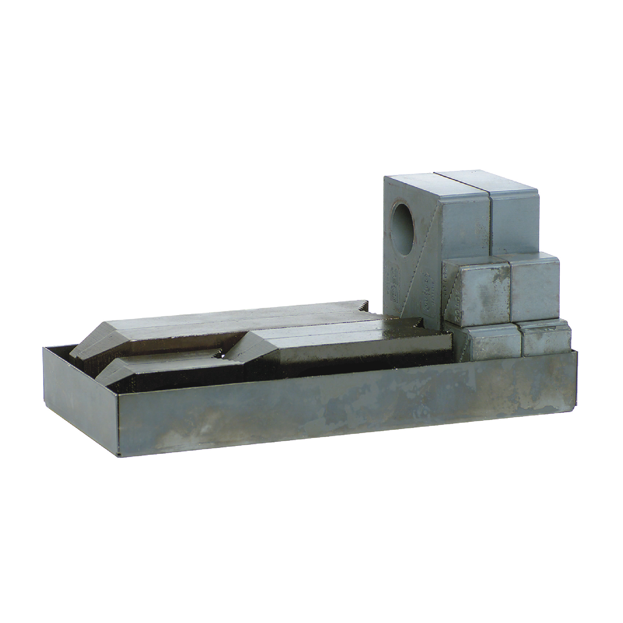 All Steel Step Block & Clamp Set