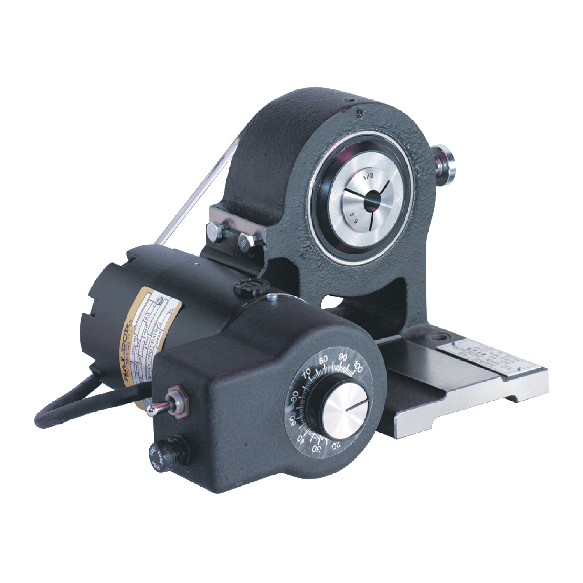 Motorized 5C Collet Spin-Indexer