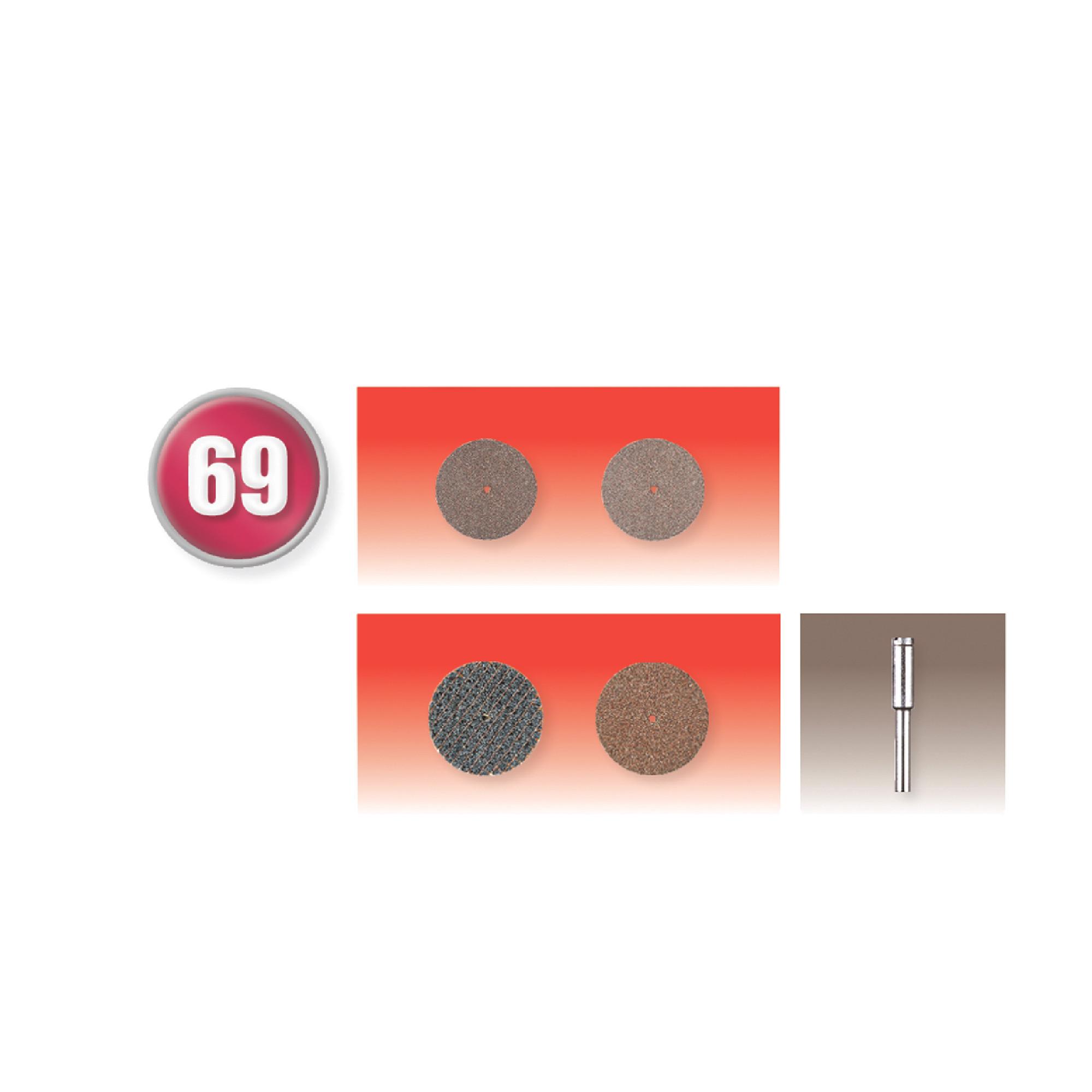 69 Piece Cut-Off Wheel Set