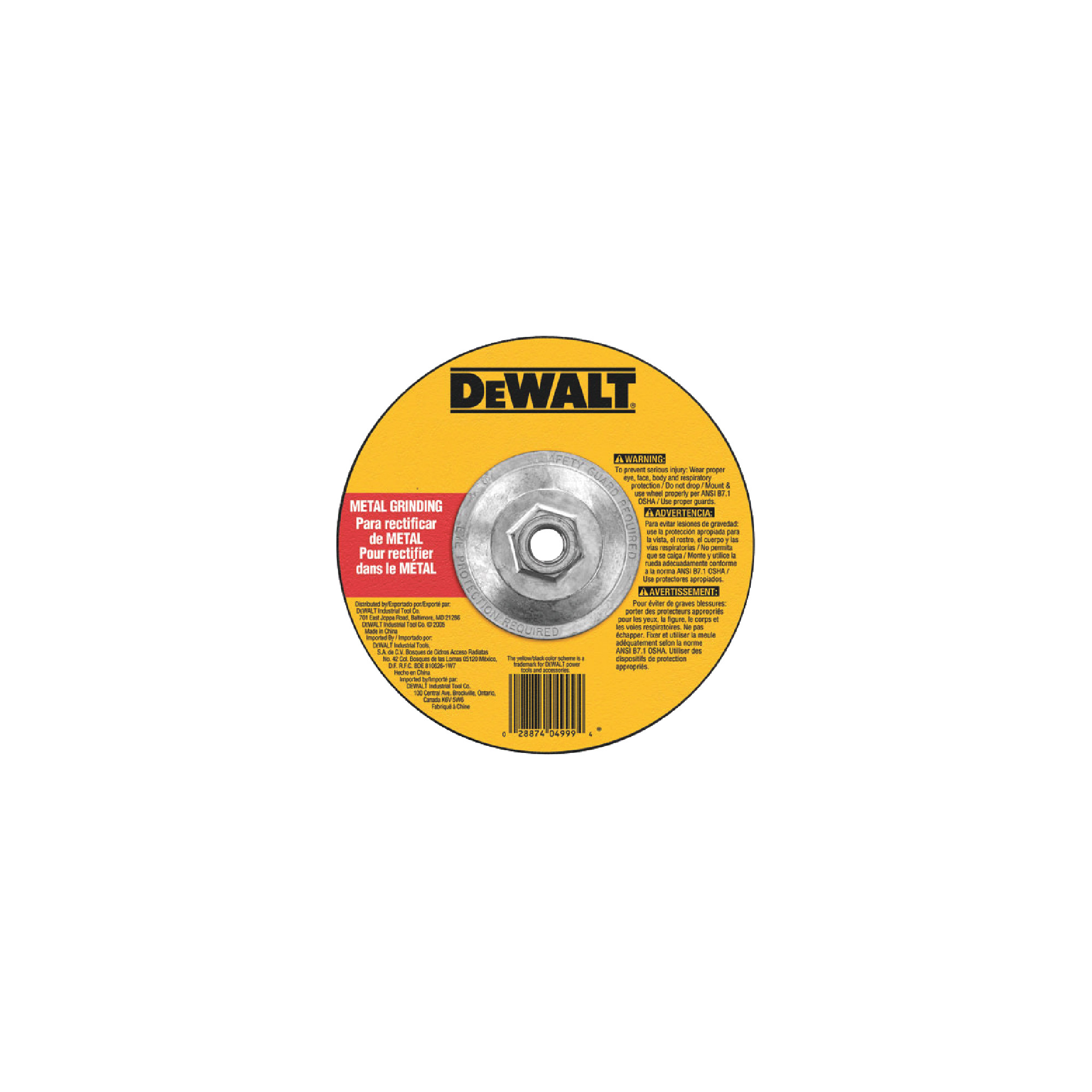"""Replacement 9"""" Grinding Wheel"""