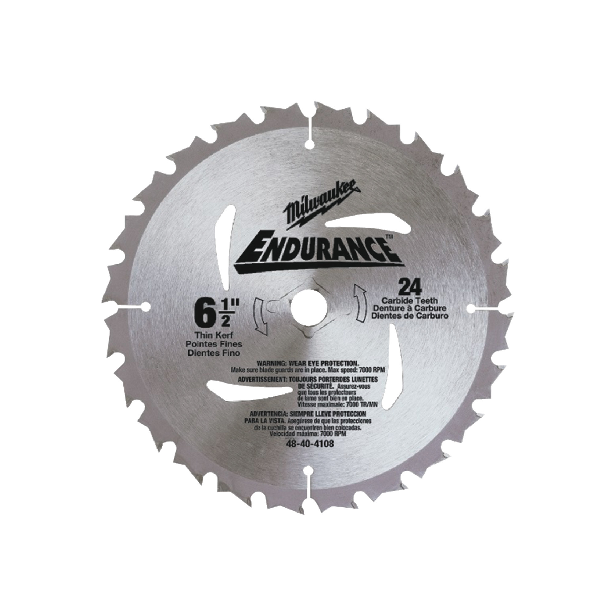48-40-0620 Wood Cutting Saw Blade - Milwaukee