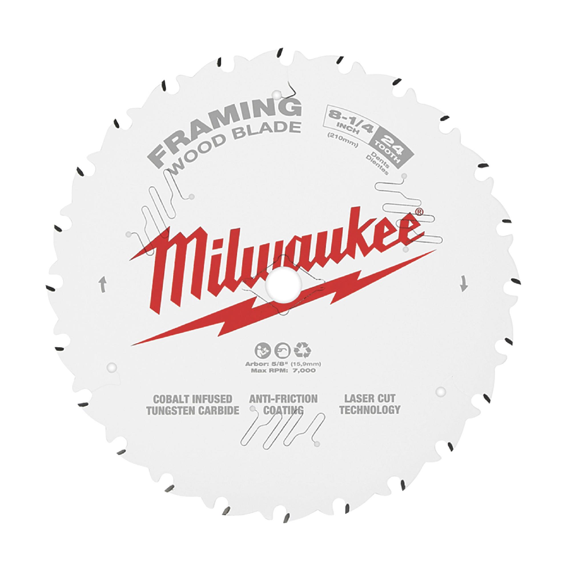 48-40-0820 WOOD CUTTING SAW BLADE - MILWAUKEE