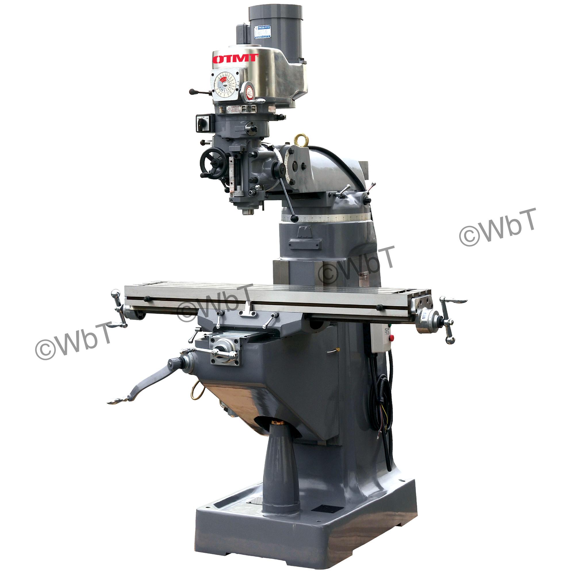 """9"""" x 49"""" Precision Vertical Milling Machine"""