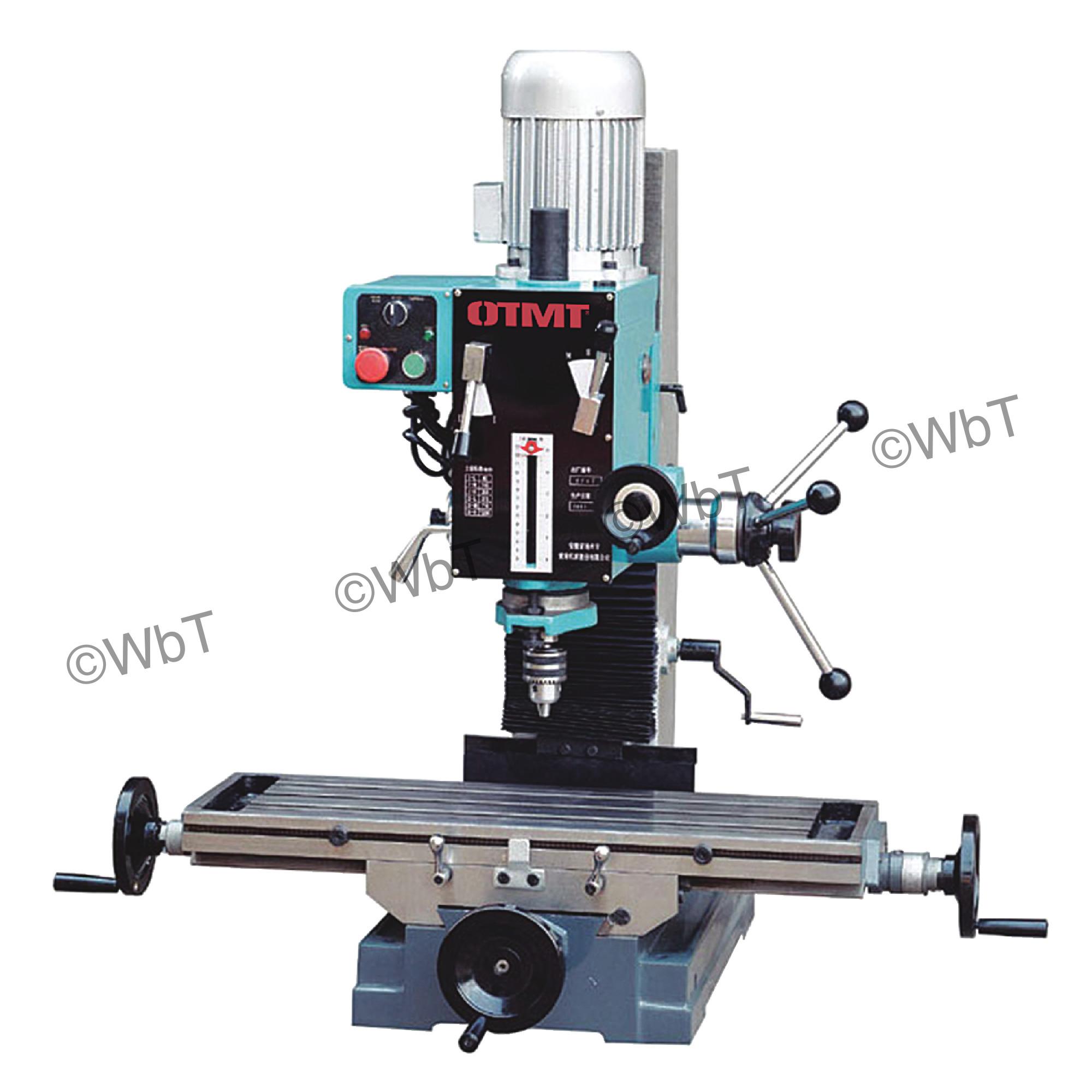 Gear Drive Mill/Drill Machine