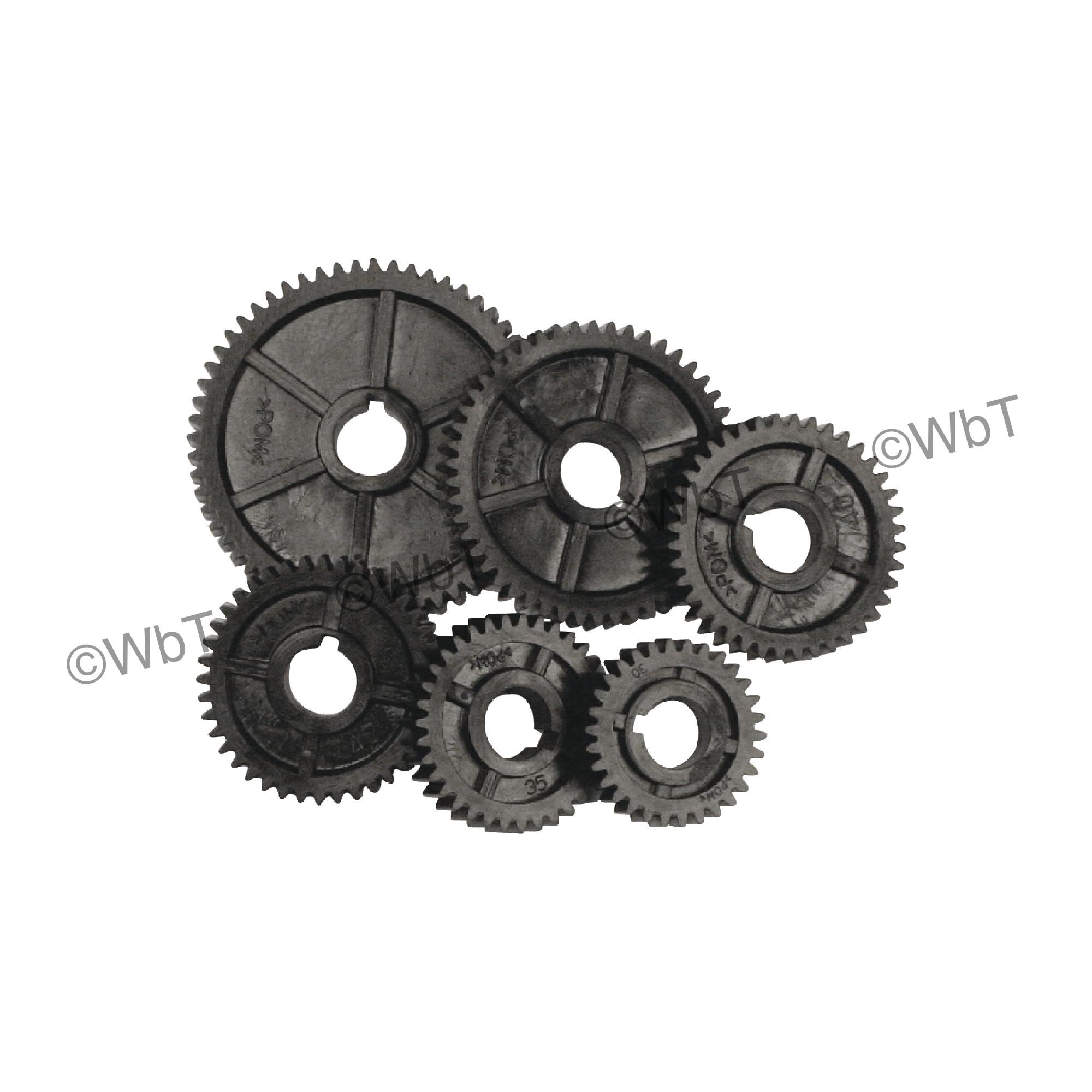 Metric Thread Cutting Gears for C2 Mini Lathe