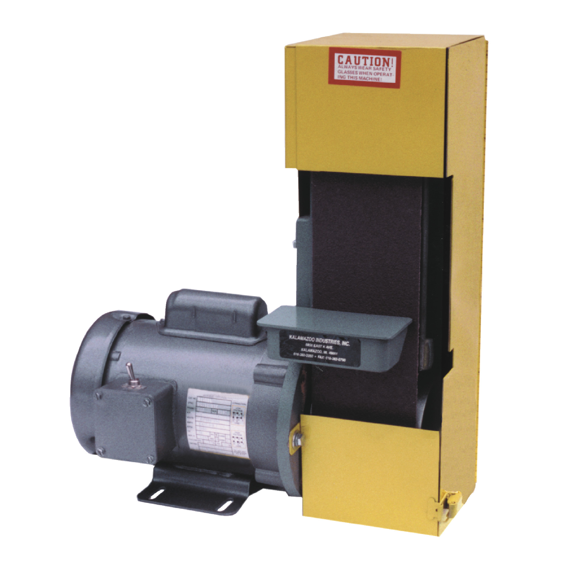 """4"""" x 36"""" Sander with Safety Guard"""