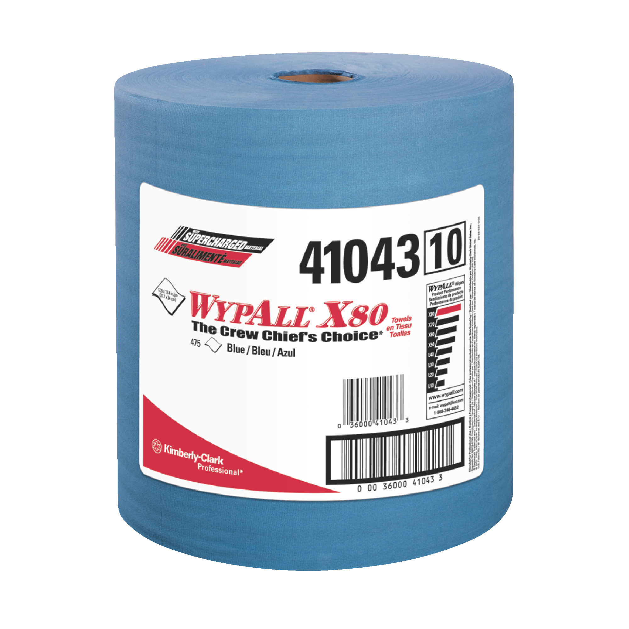 Wypall X80 Towels Pop-up